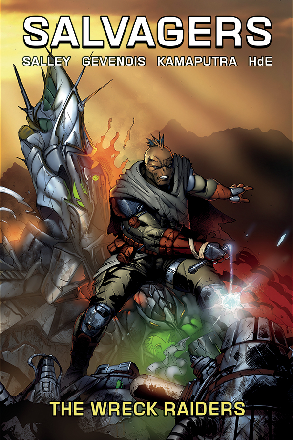SALVAGERS TP VOL 02 WRECK RAIDERS (MR)