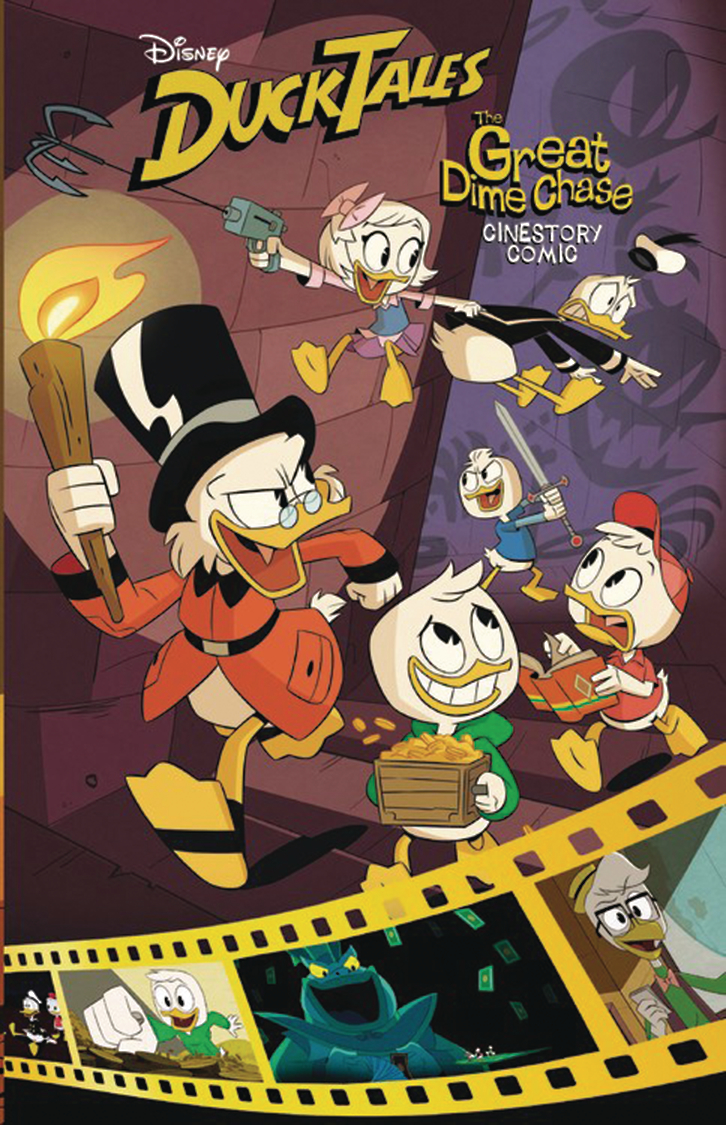 DISNEY DUCKTALES CINESTORY GN VOL 01 GREAT DIME CHASE (RES)