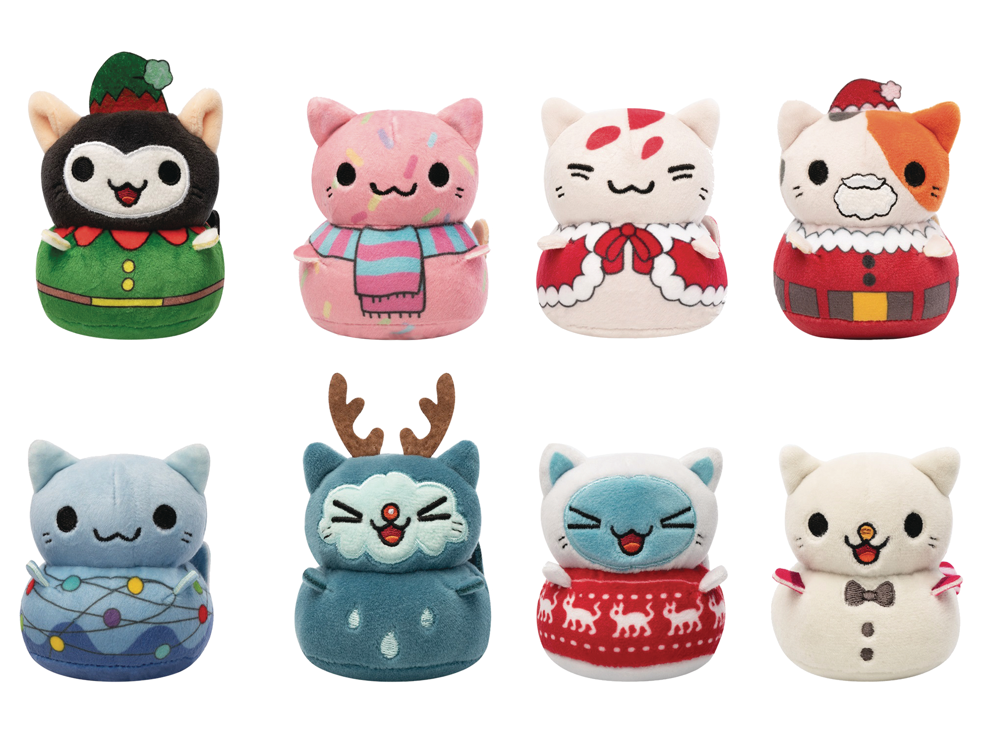 Jul189136 Mystery Minis Kleptocats Holiday 12pc Bmb