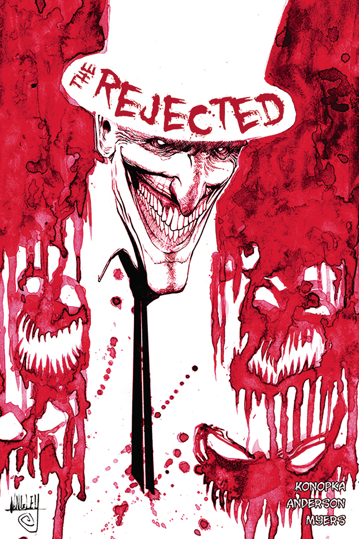 REJECTED ONE SHOT 2ND PRINT (MR)