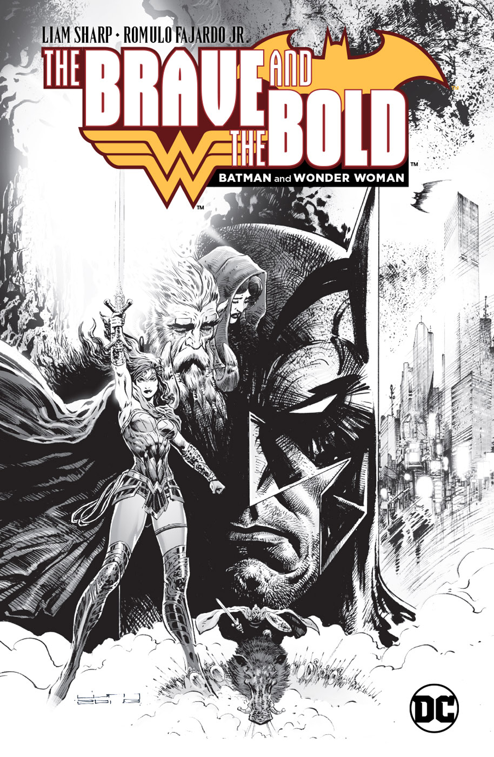 LCSD 2018 BRAVE AND THE BOLD BATMAN AND WONDER WOMAN HC