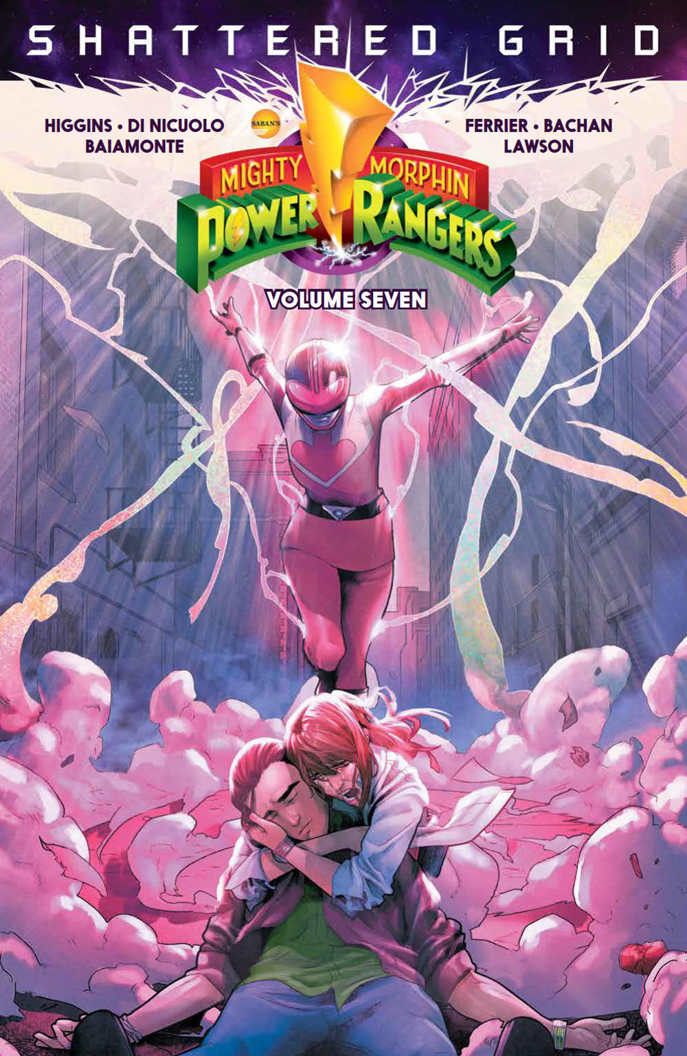 MIGHTY MORPHIN POWER RANGERS TP VOL 07