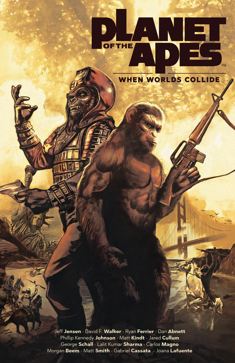 PLANET OF THE APES WHEN WORLDS COLLIDE TP