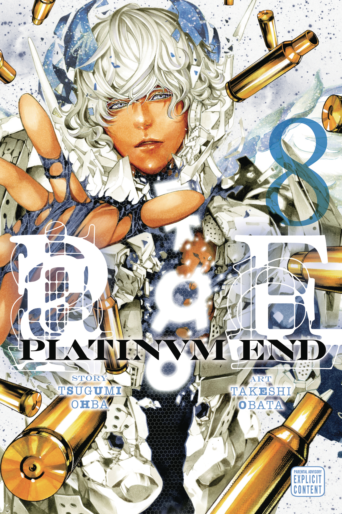 PLATINUM END GN VOL 08 (MR)