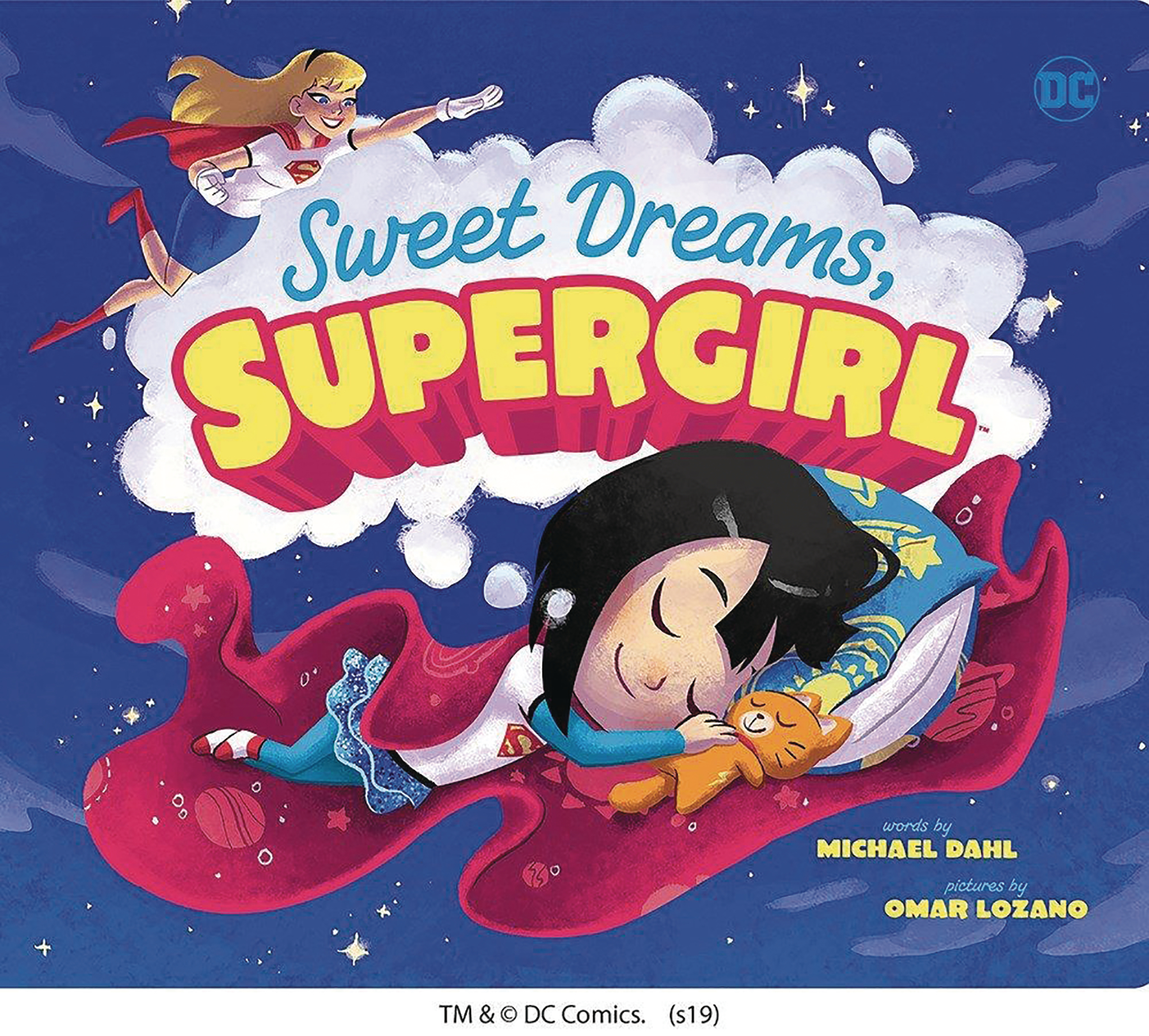 SWEET DREAMS SUPERGIRL BOARD BOOK