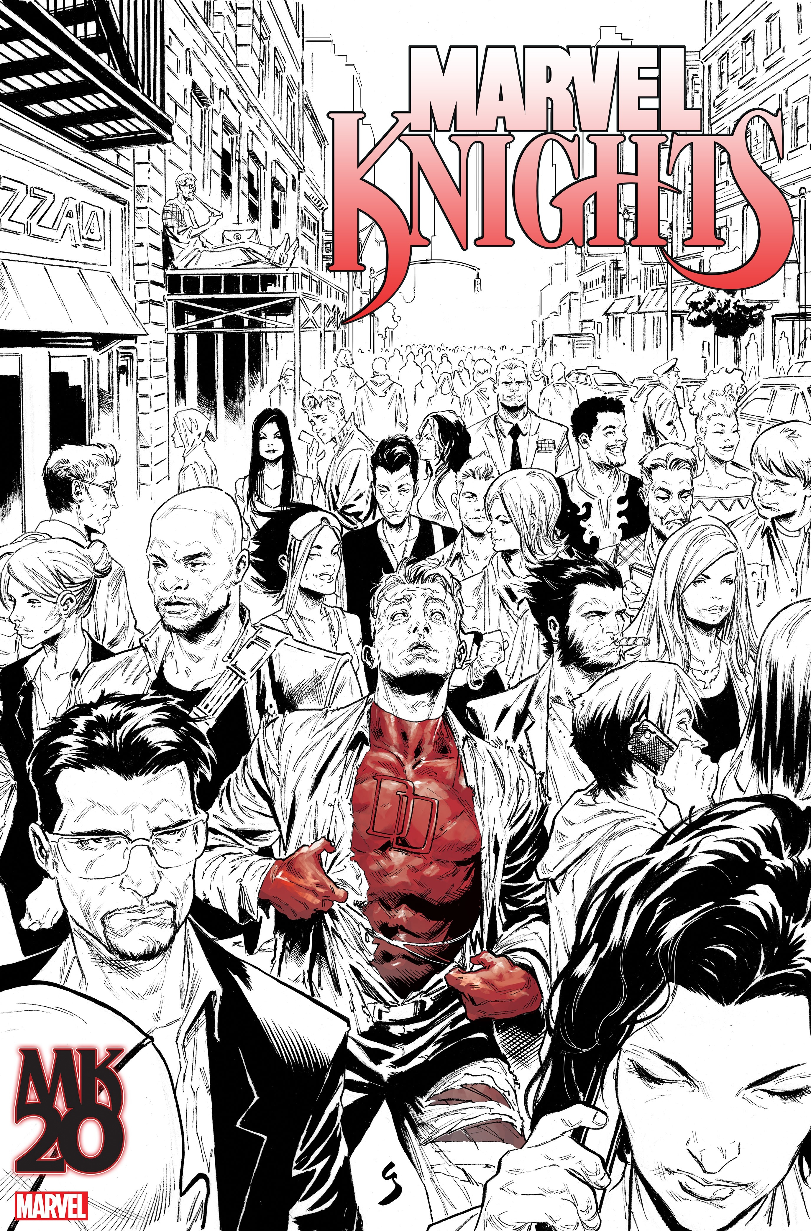 LCSD 2018 MARVEL KNIGHTS 20TH #1 (OF 6) VAR