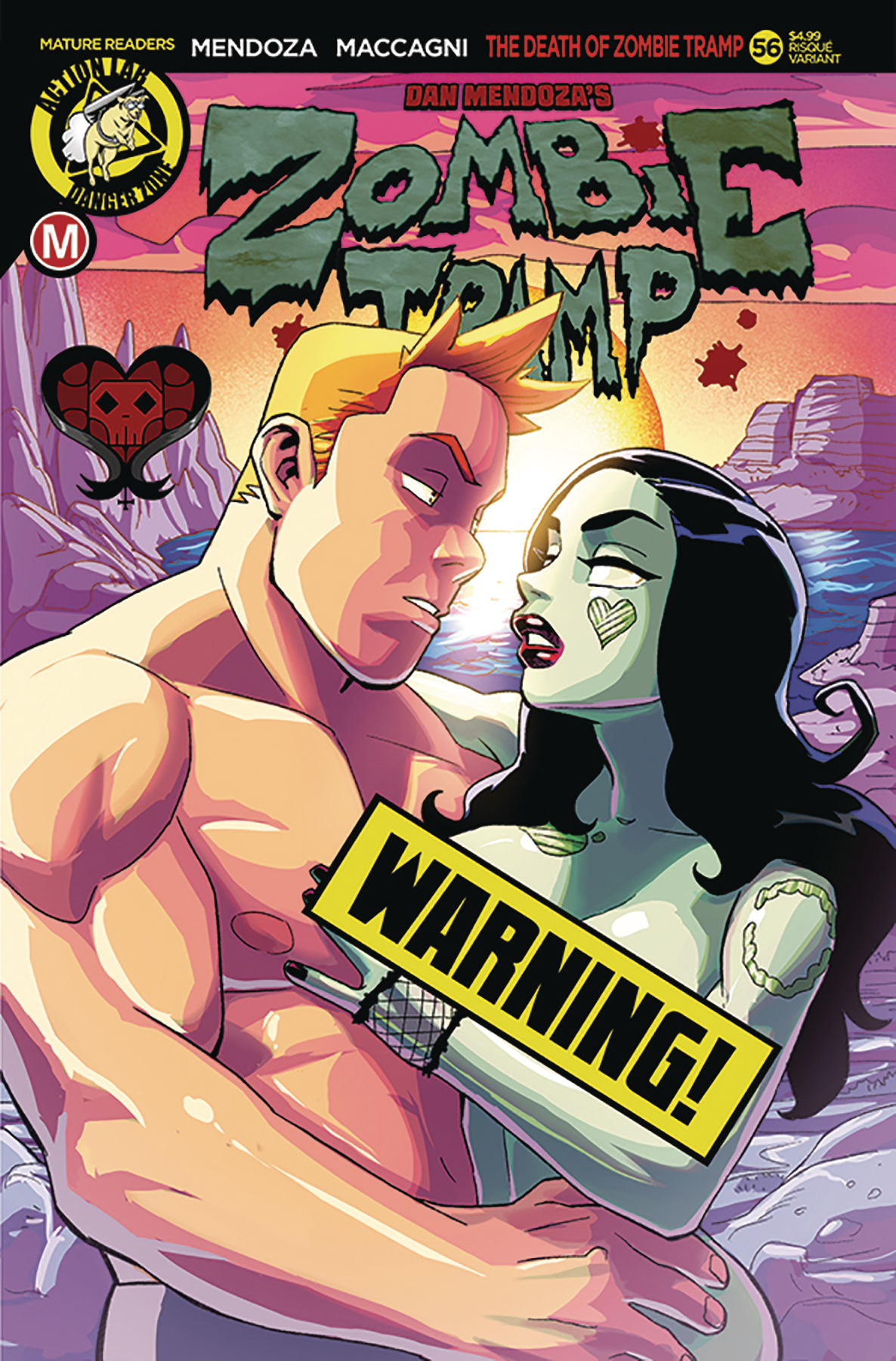 ZOMBIE TRAMP ONGOING #56 CVR B WINSTON YOUNG RISQUE (MR)
