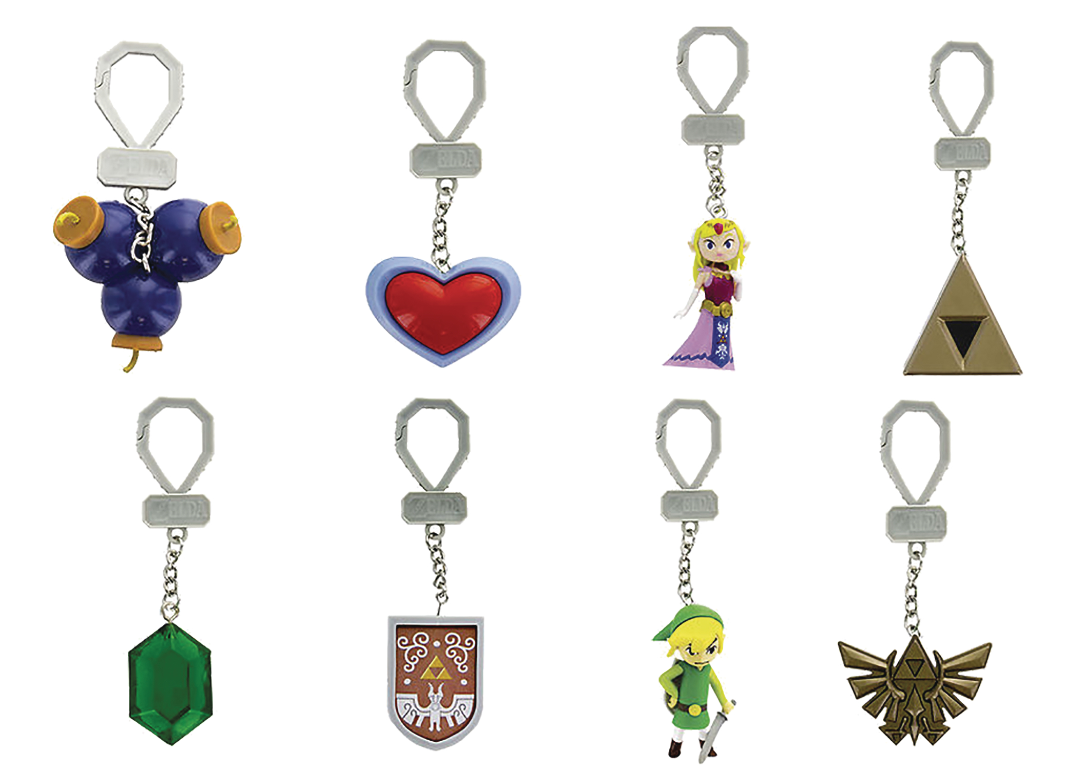 LOZ BACKPACK BUDDIES HANGER 24PC BMB DS SER 2