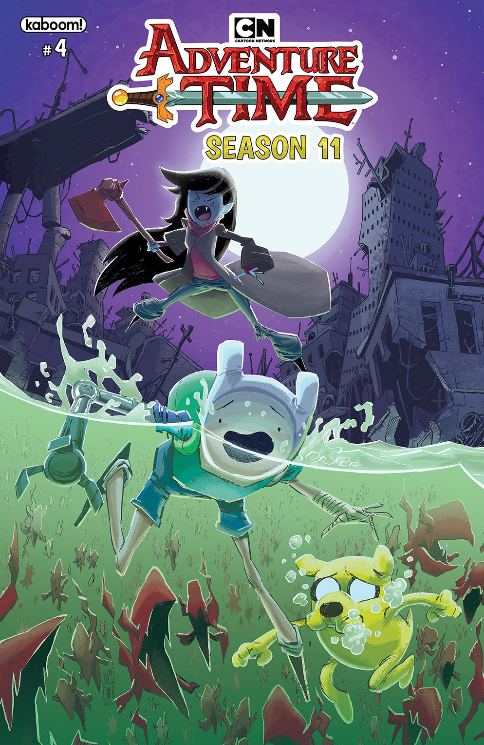 ADVENTURE TIME SEASON 11 #4 MAIN