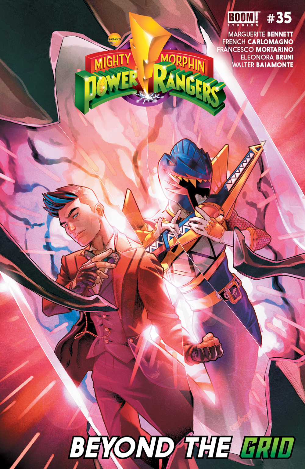 MIGHTY MORPHIN POWER RANGERS #35 MAIN