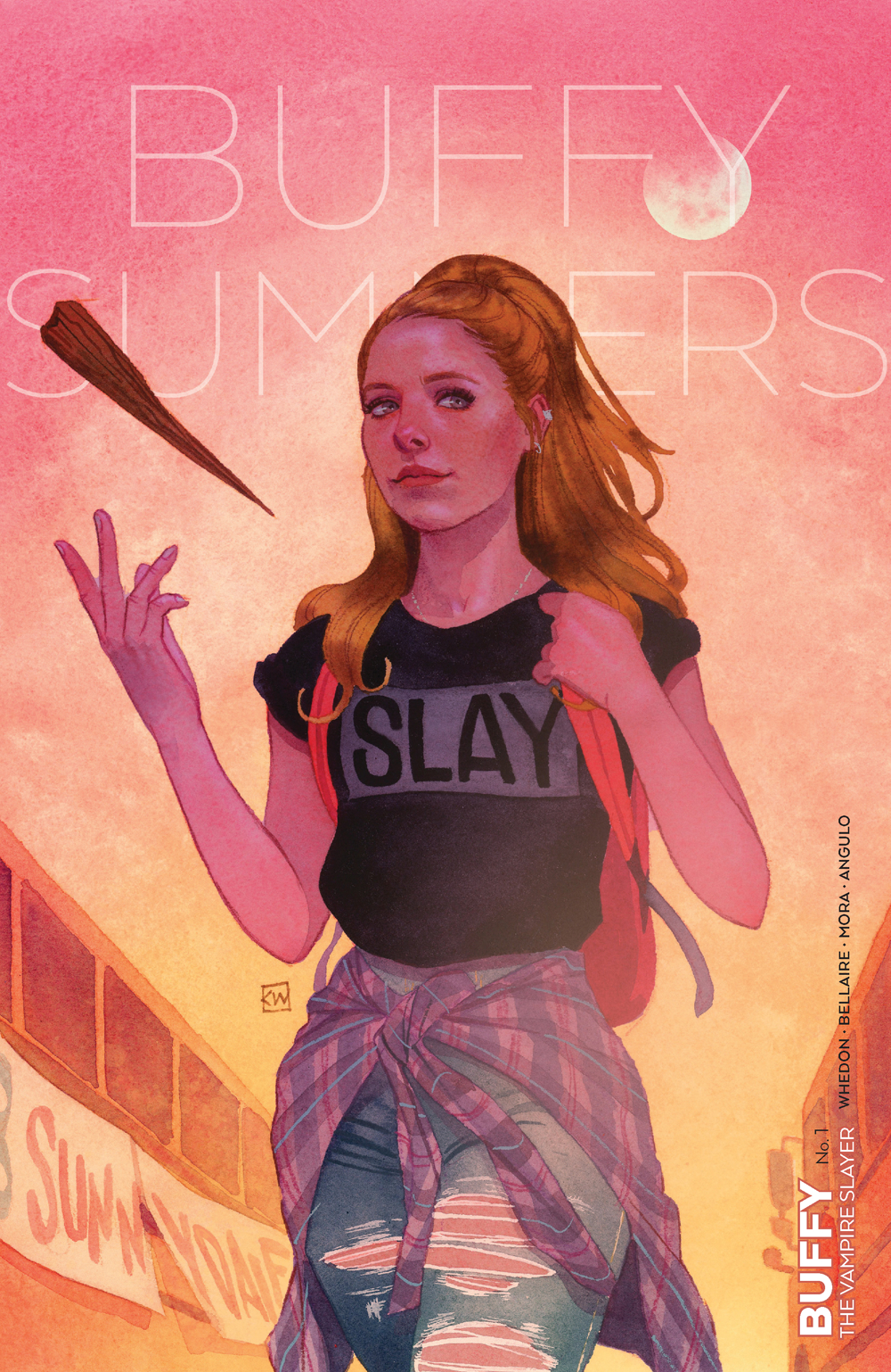 BUFFY THE VAMPIRE SLAYER #1 WADA VAR