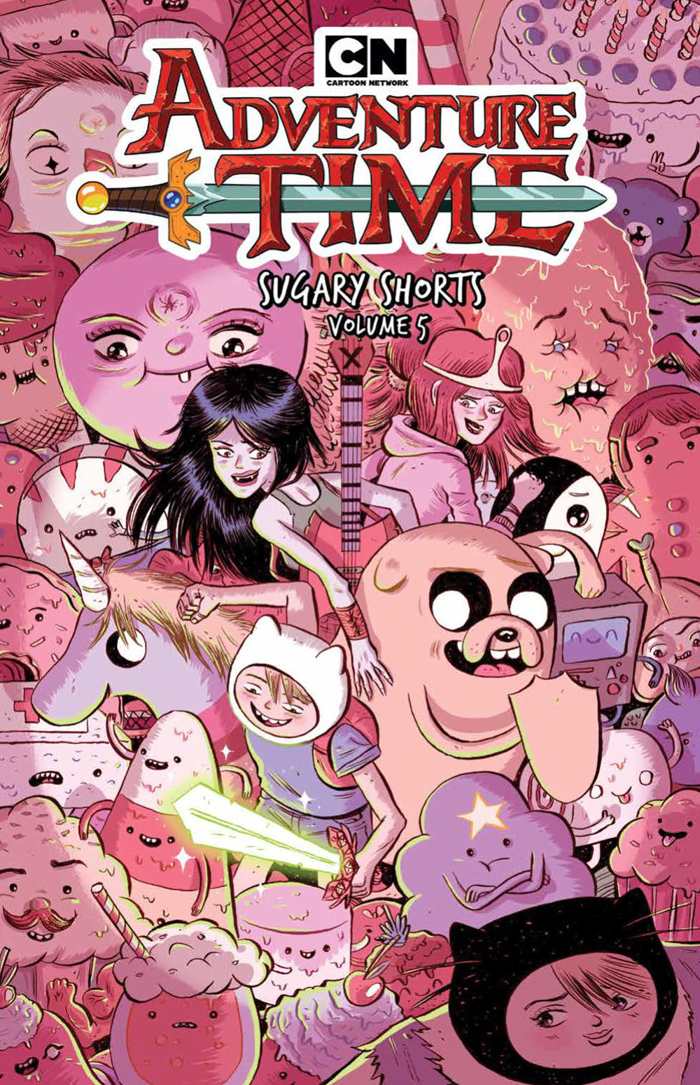 ADVENTURE TIME SUGARY SHORTS TP VOL 05