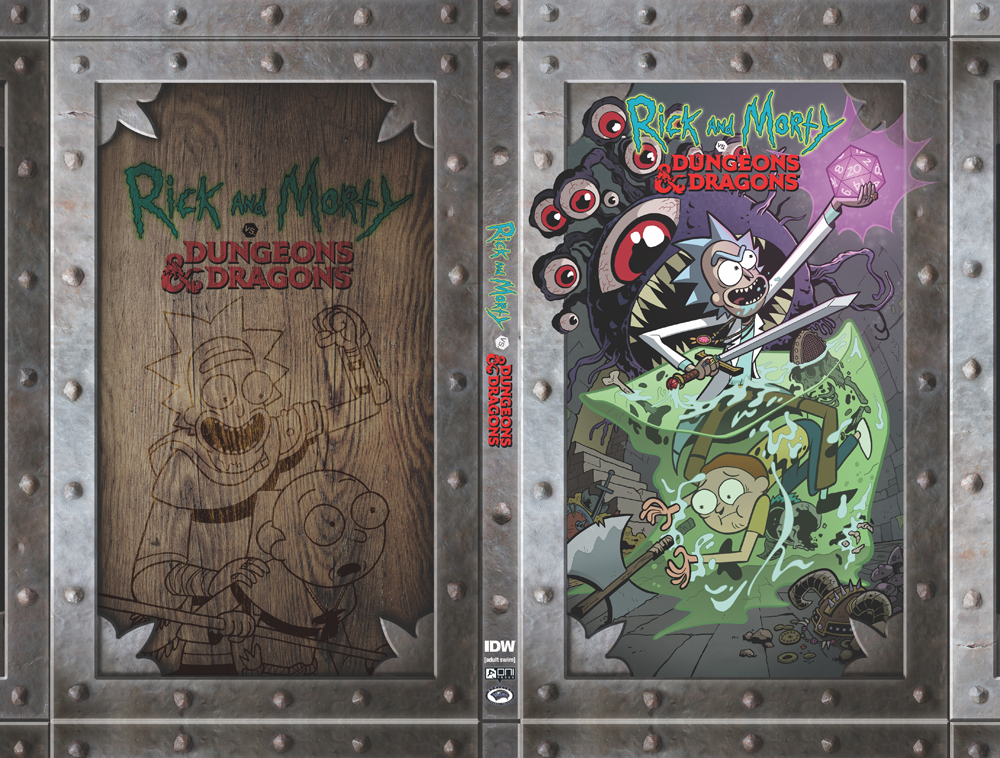 RICK & MORTY VS D&D BOX SET