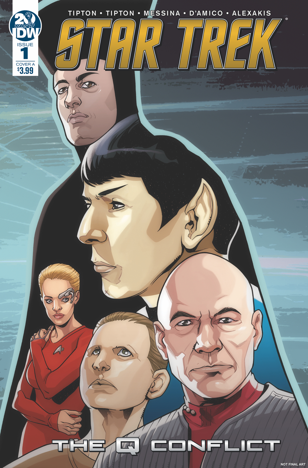 STAR TREK Q CONFLICT #1 (OF 6) CVR A MESSINA