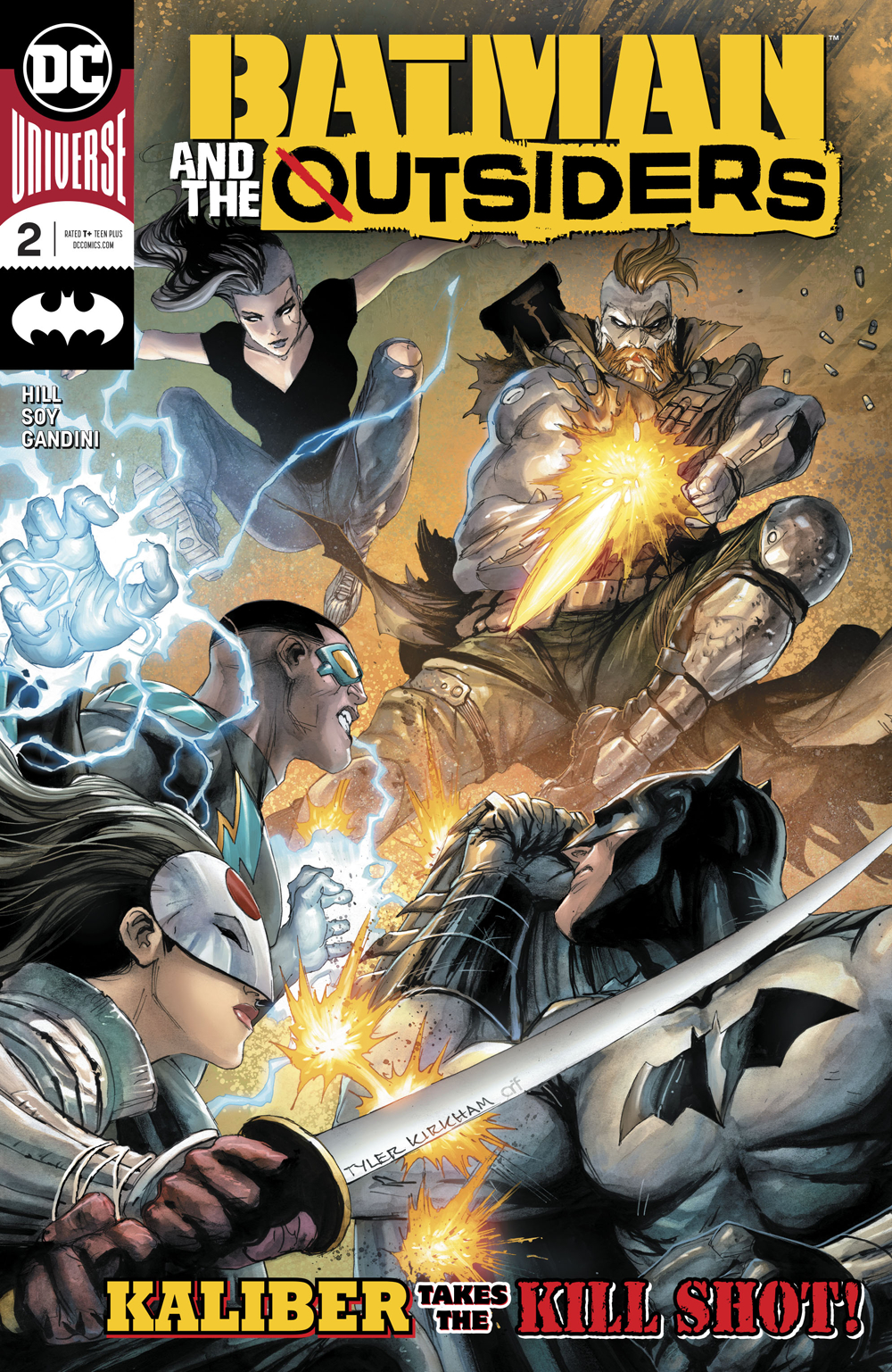 BATMAN AND THE OUTSIDERS #2 (RES)