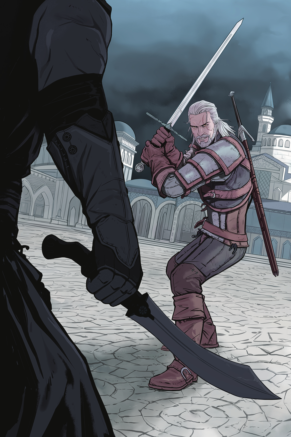 WITCHER #2 OF FLESH & FLAME