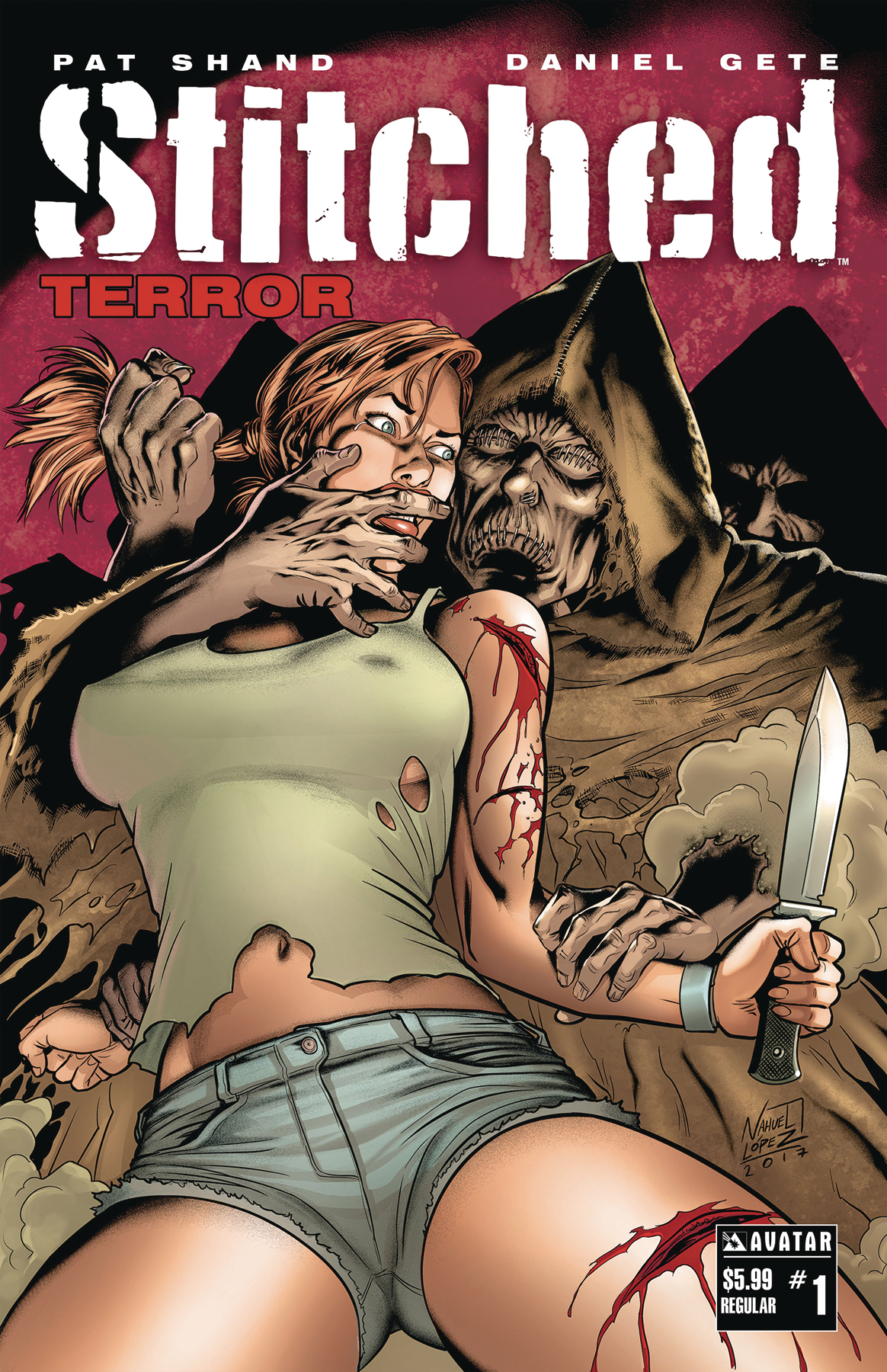 STITCHED TERROR #1 (RES) (MR)