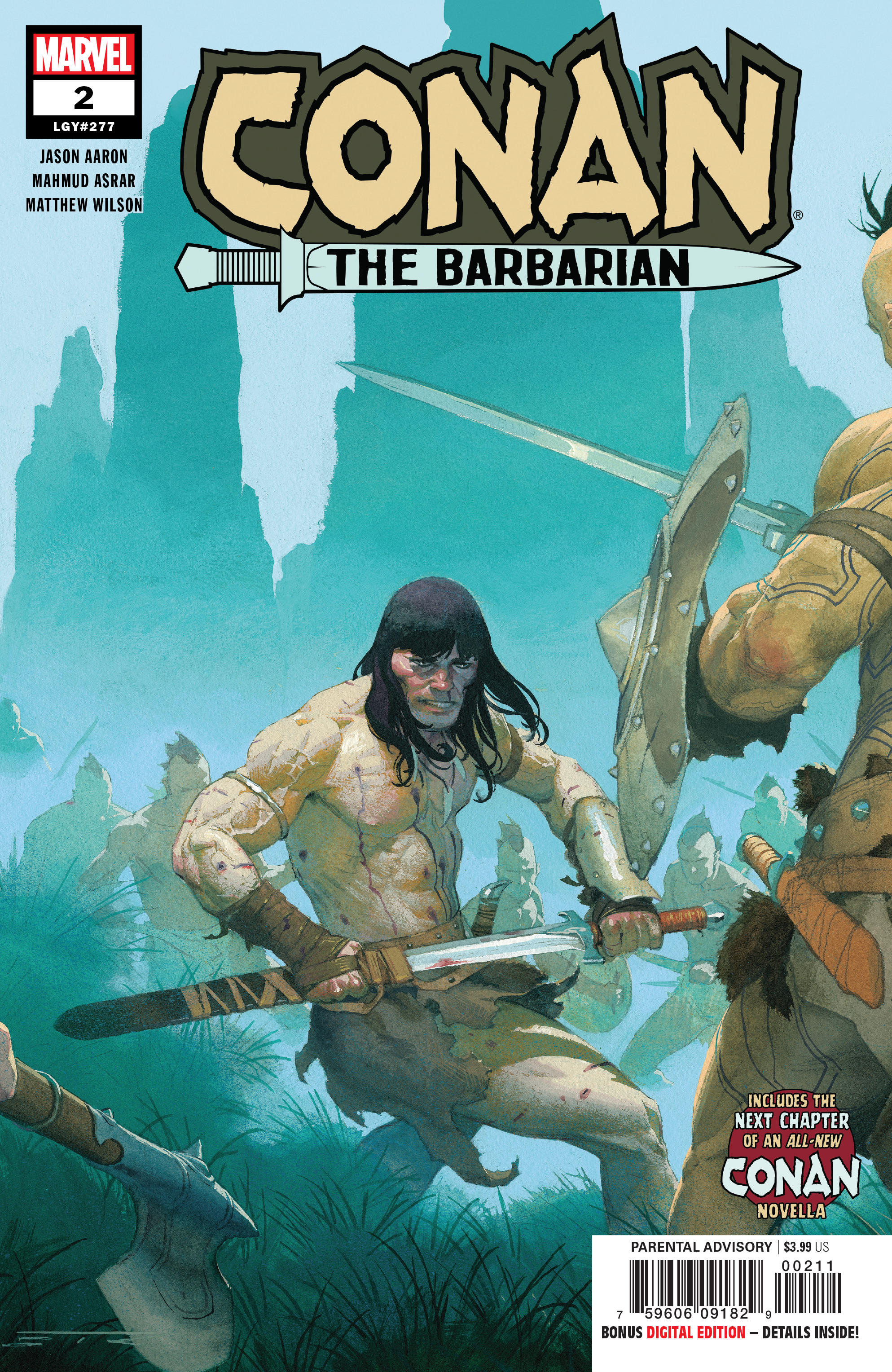 Image result for Marvel Previews Conan The Barbarian #2 2019