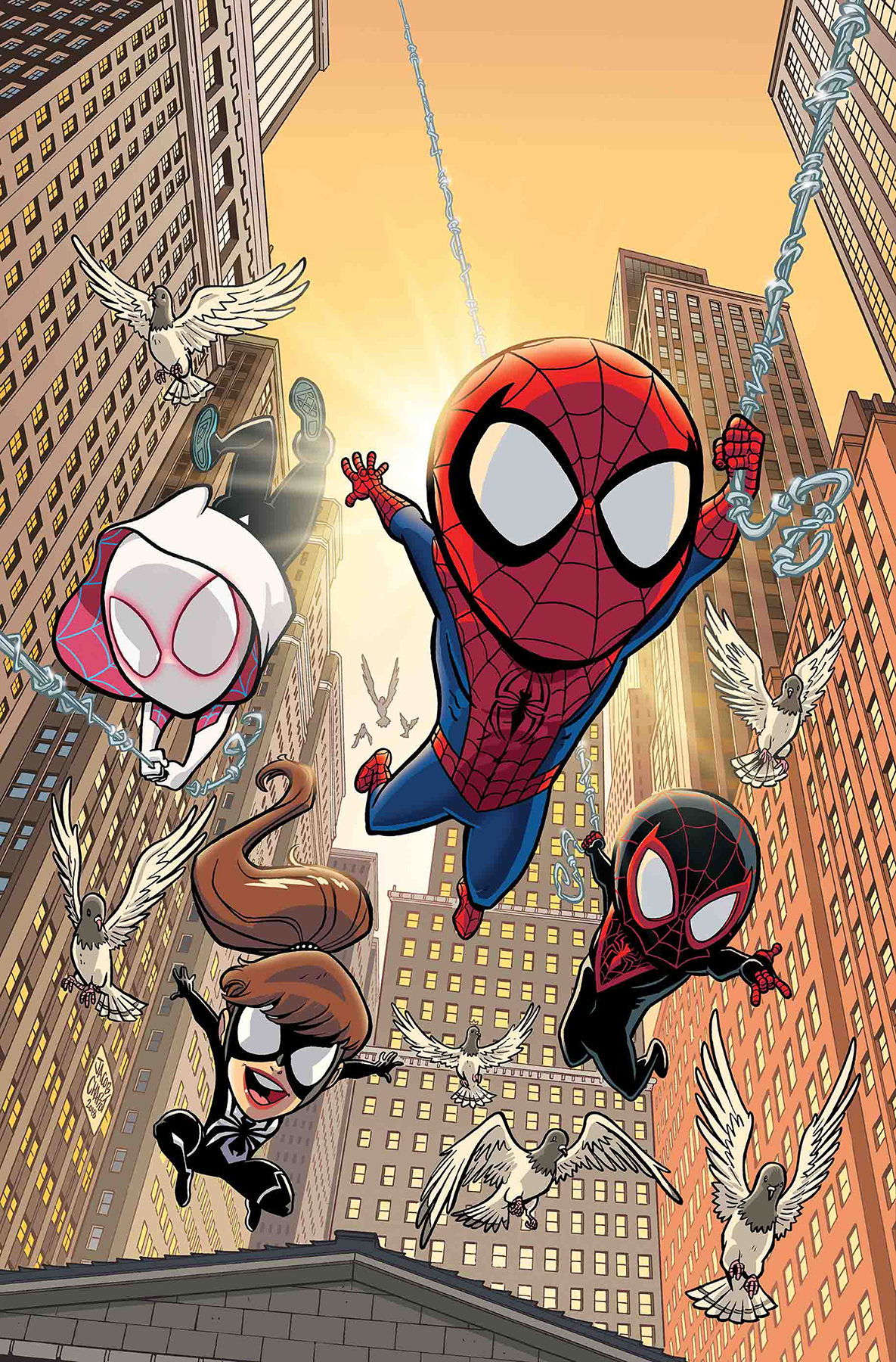 MSH ADVENTURES SPIDER-MAN ACROSS SPIDER-VERSE #1