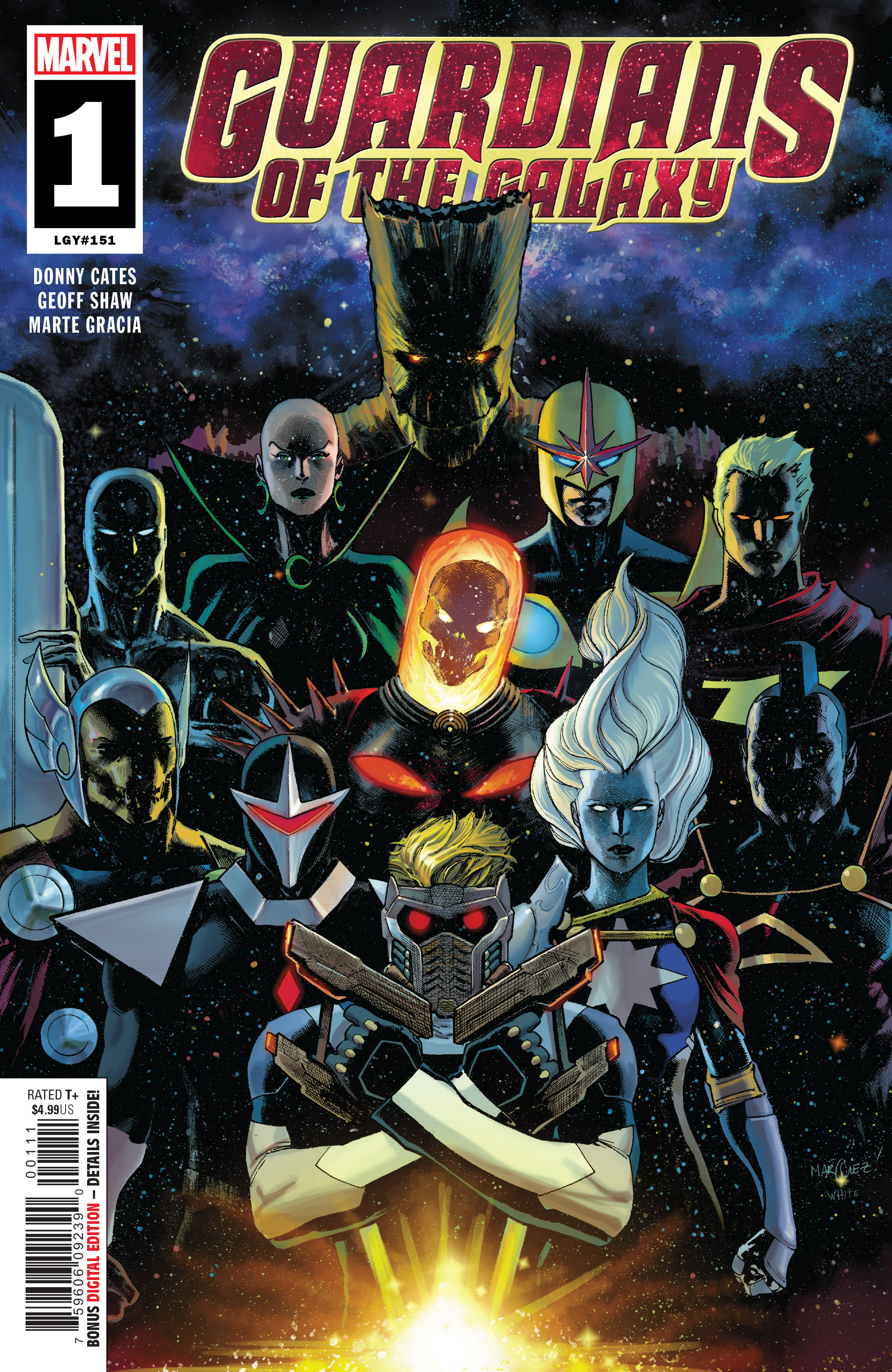 NOV180771 - GUARDIANS OF THE GALAXY #1 - Previews World