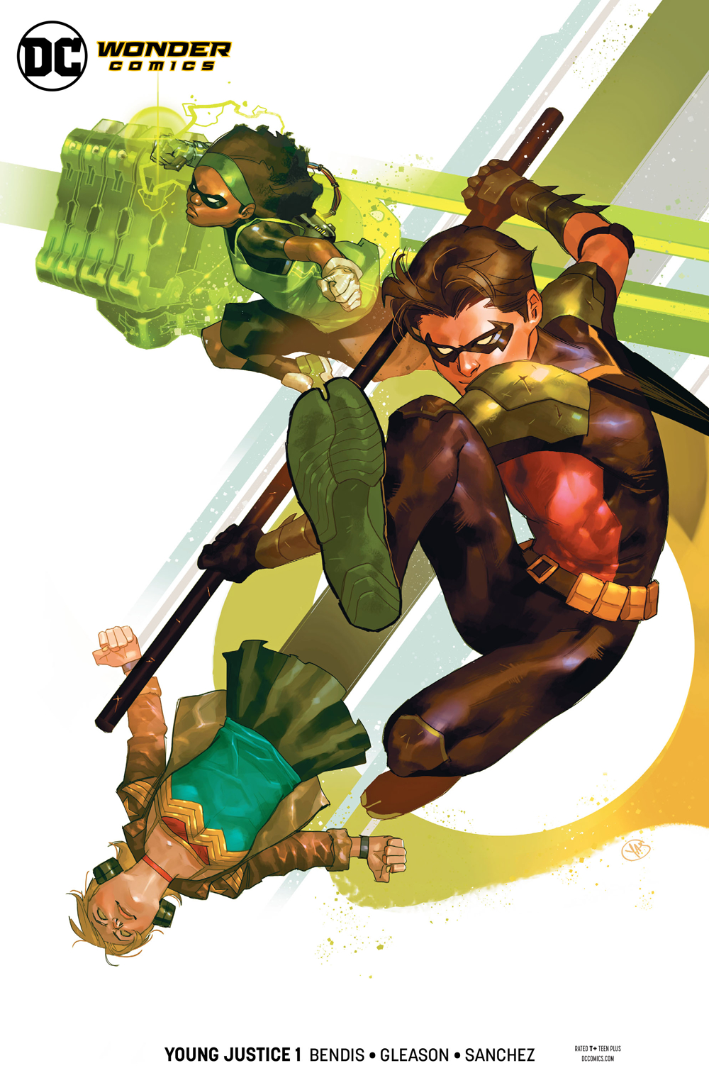 YOUNG JUSTICE #1 ROBIN VAR ED