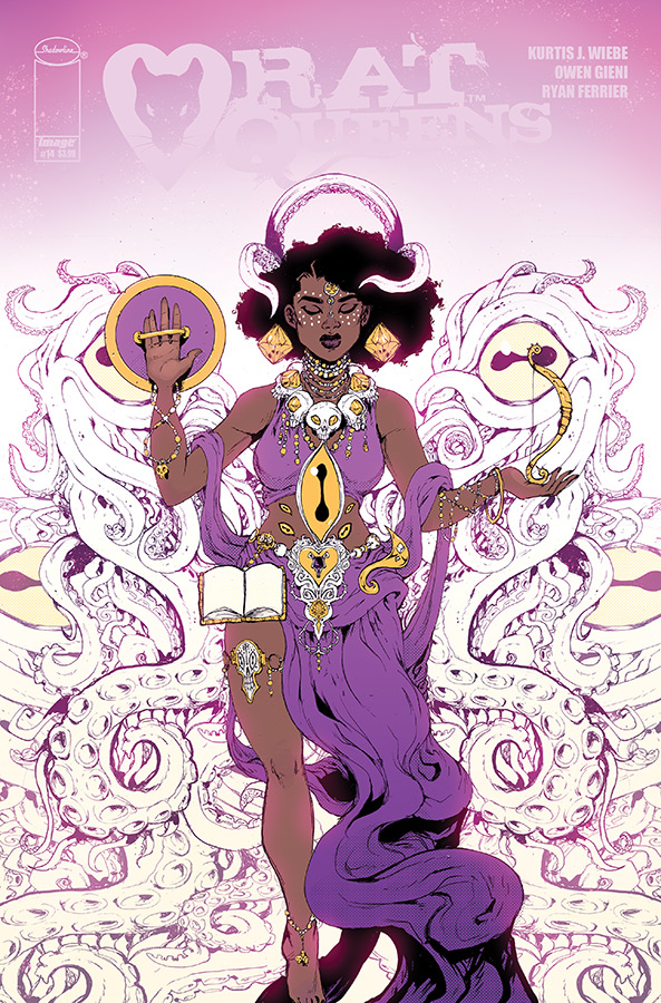 RAT QUEENS #14 CVR A GIENI (O/A) (MR)