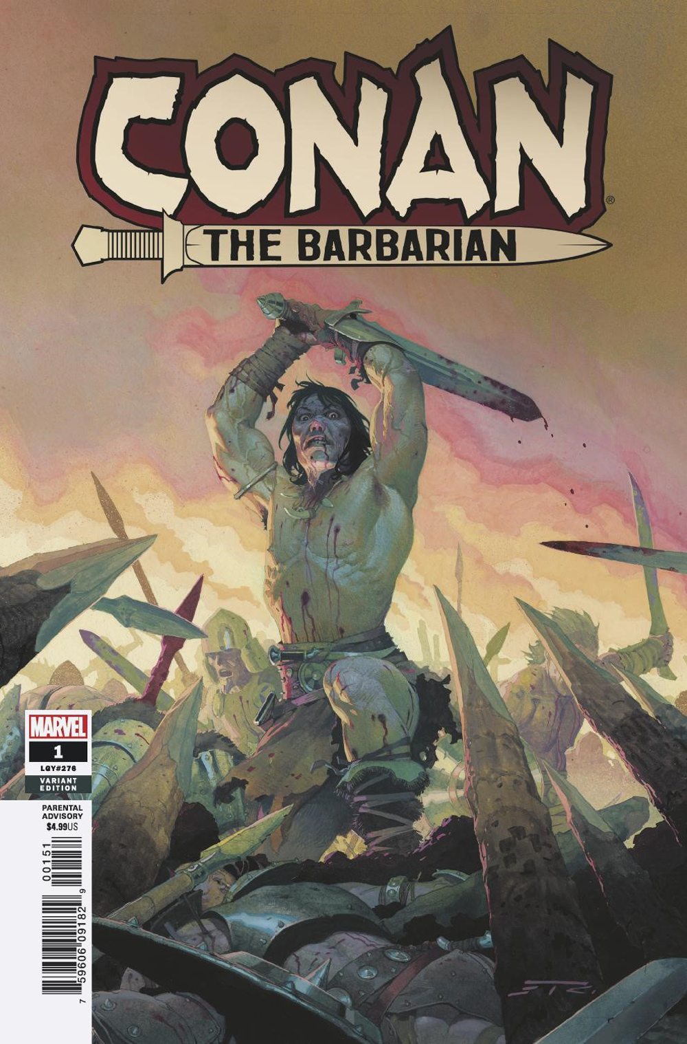CONAN THE BARBARIAN #1 RIBIC TEASER VAR