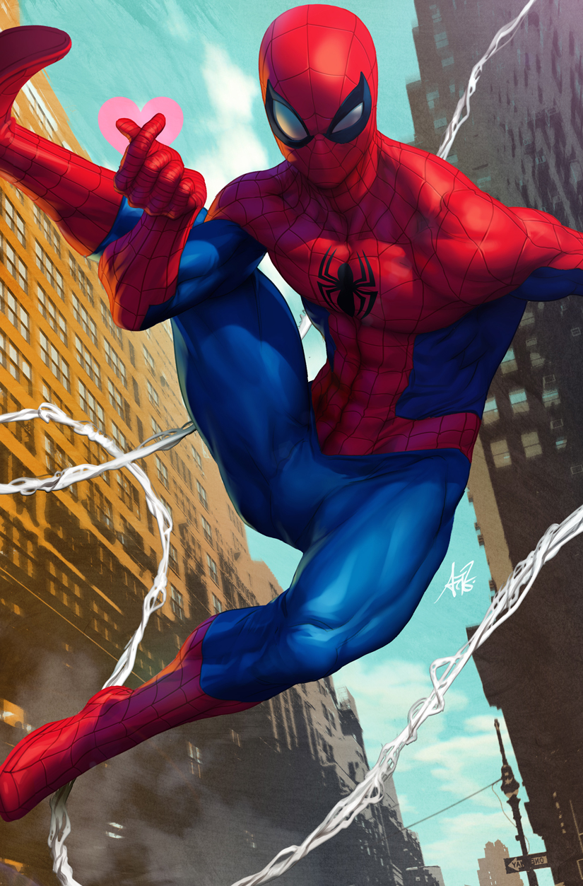 FRIENDLY NEIGHBORHOOD SPIDER-MAN #1 ARTGERM VAR