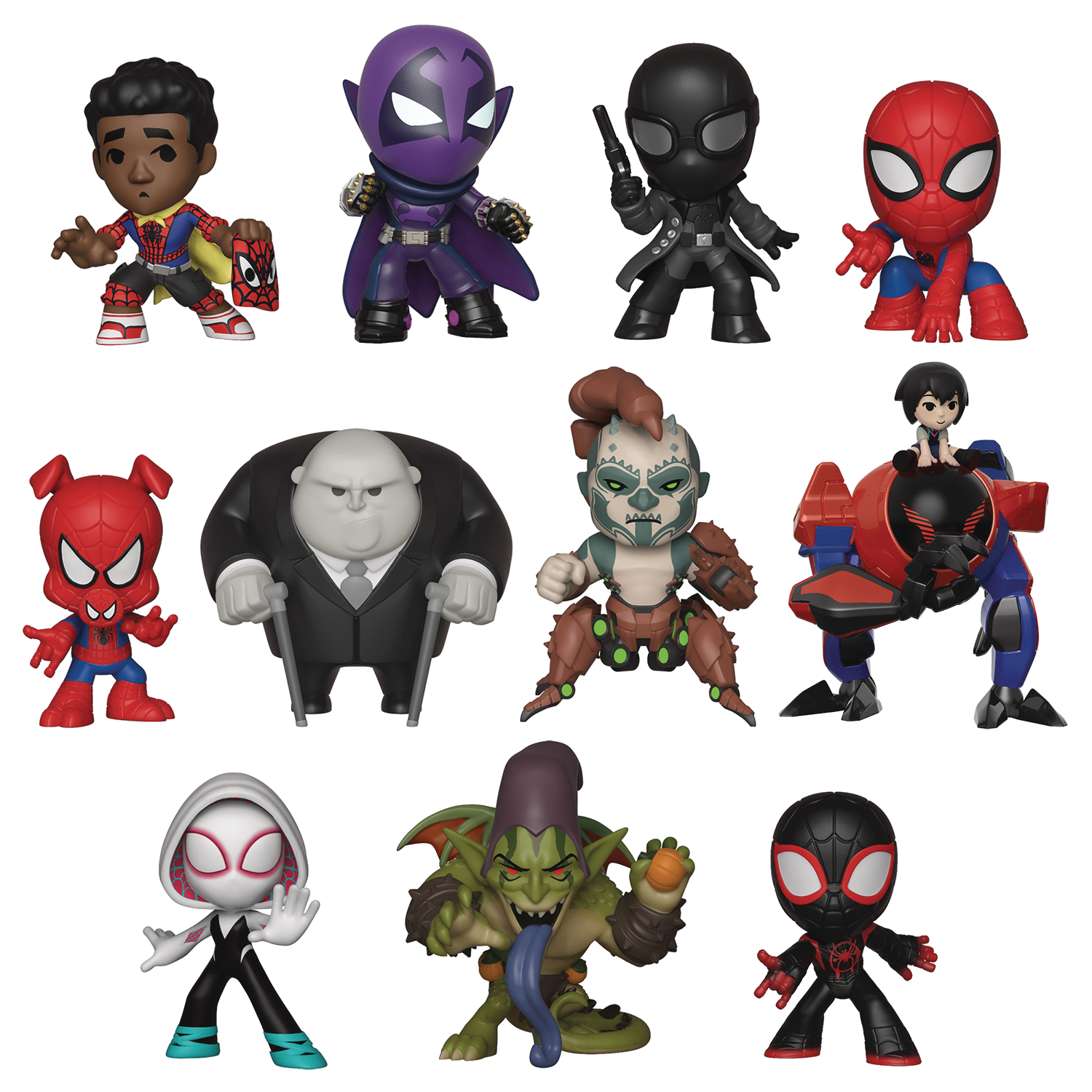 MYSTERY MINIS ANIMATED SPIDER-MAN 12PC BMB DISP
