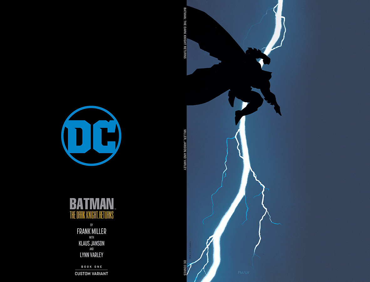 DF DARK KNIGHT RETURNS #1 LTD NYCC VIRGIN VAR