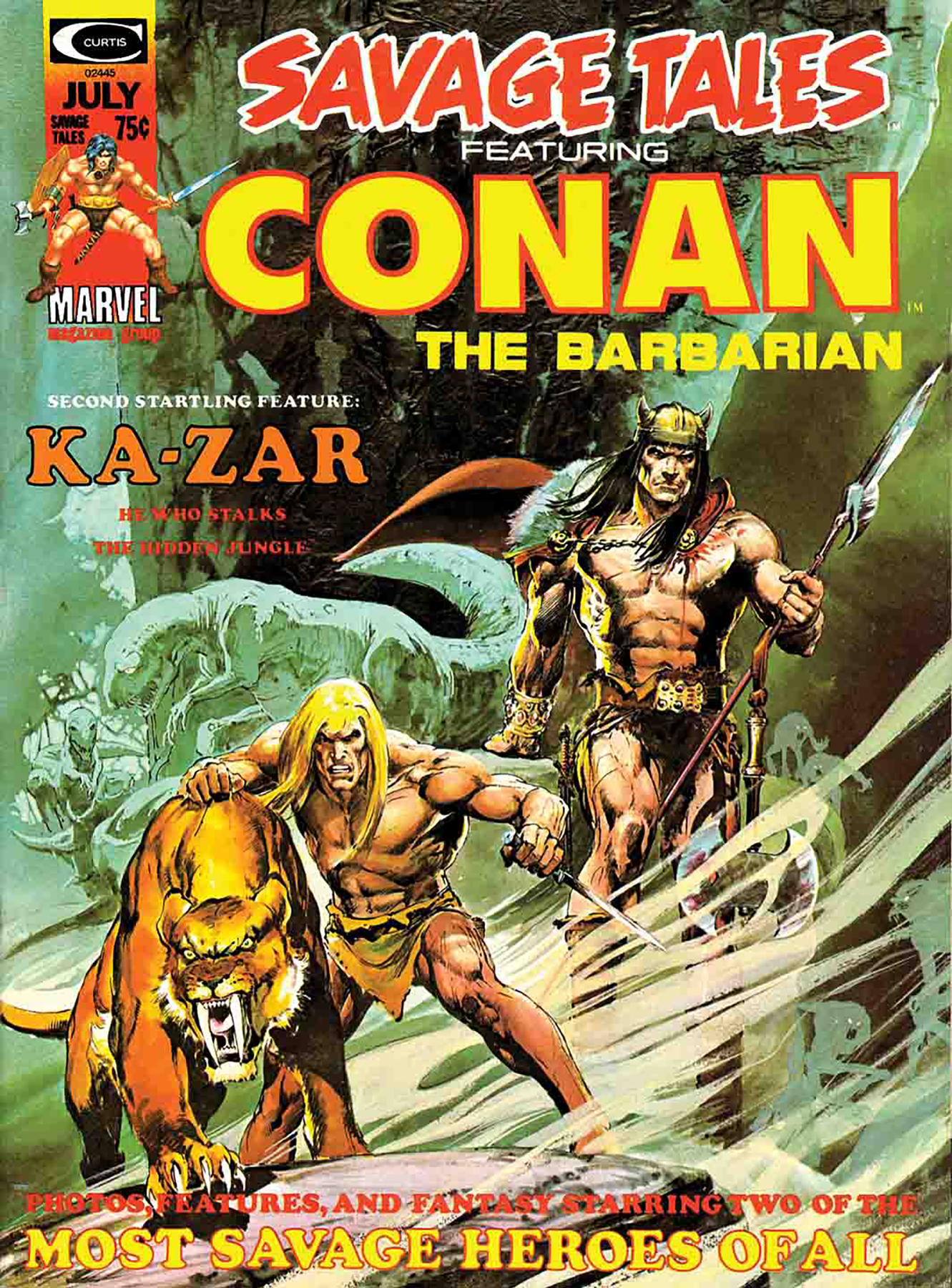 TRUE BELIEVERS CONAN SECRET OF SKULL RIVER #1