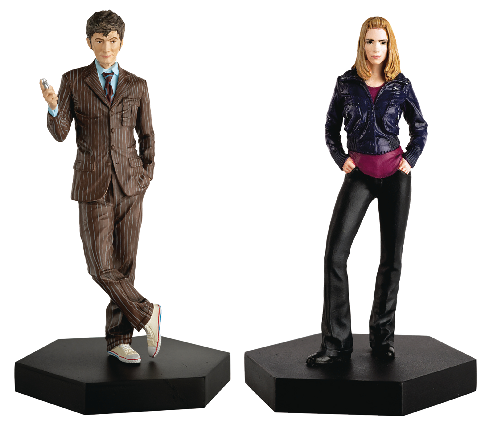 DOCTOR WHO FIG COLL COMPANION SET #2 TENTH DOCTOR & ROSE TYL