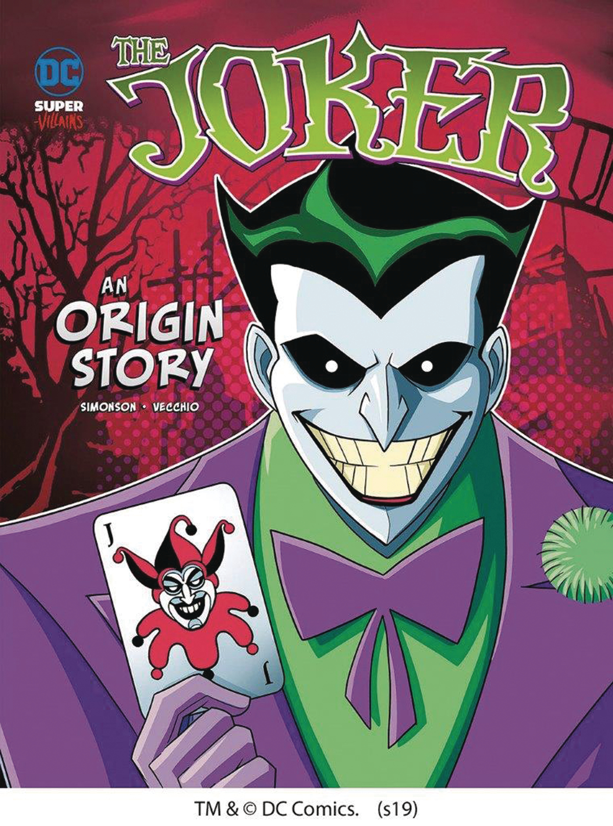 DC SUPER VILLAINS ORIGINS YR TP JOKER