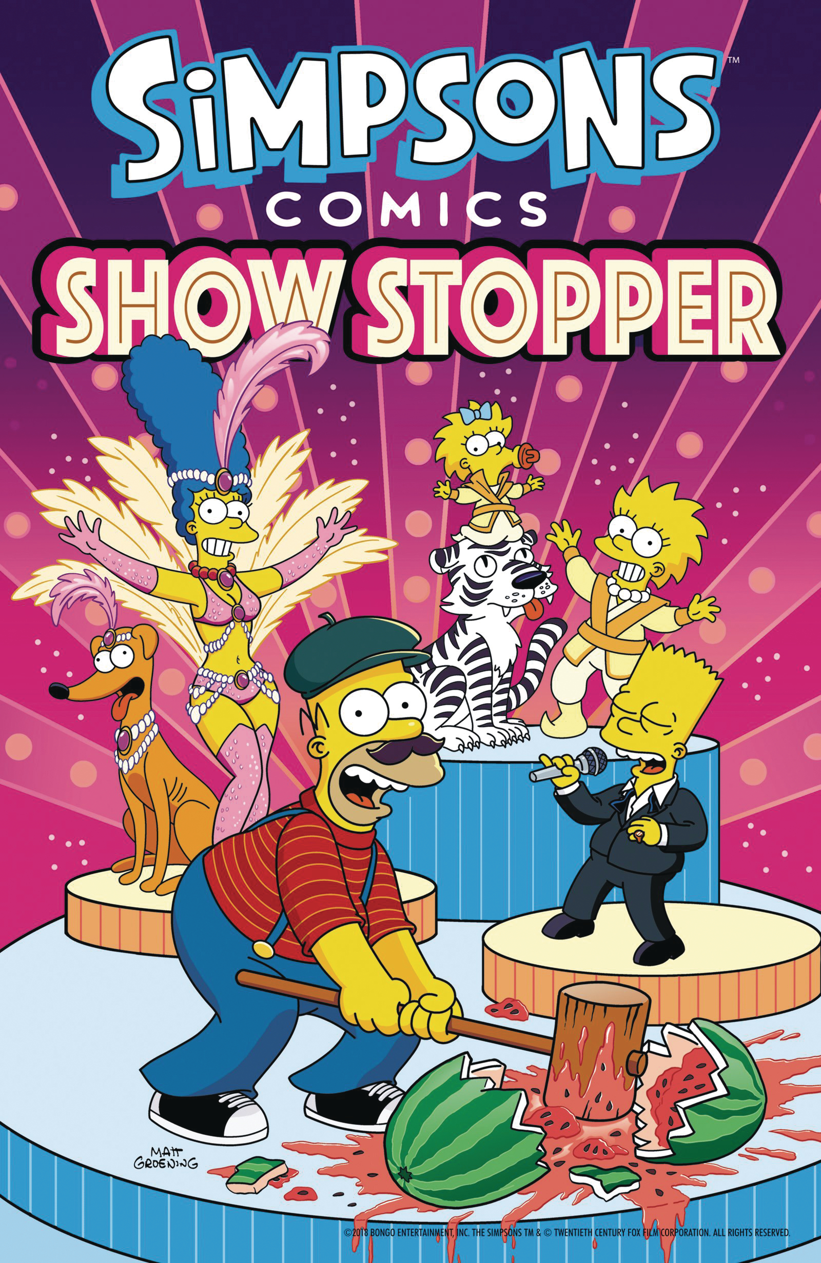 SIMPSONS COMICS SHOWSTOPPER TP