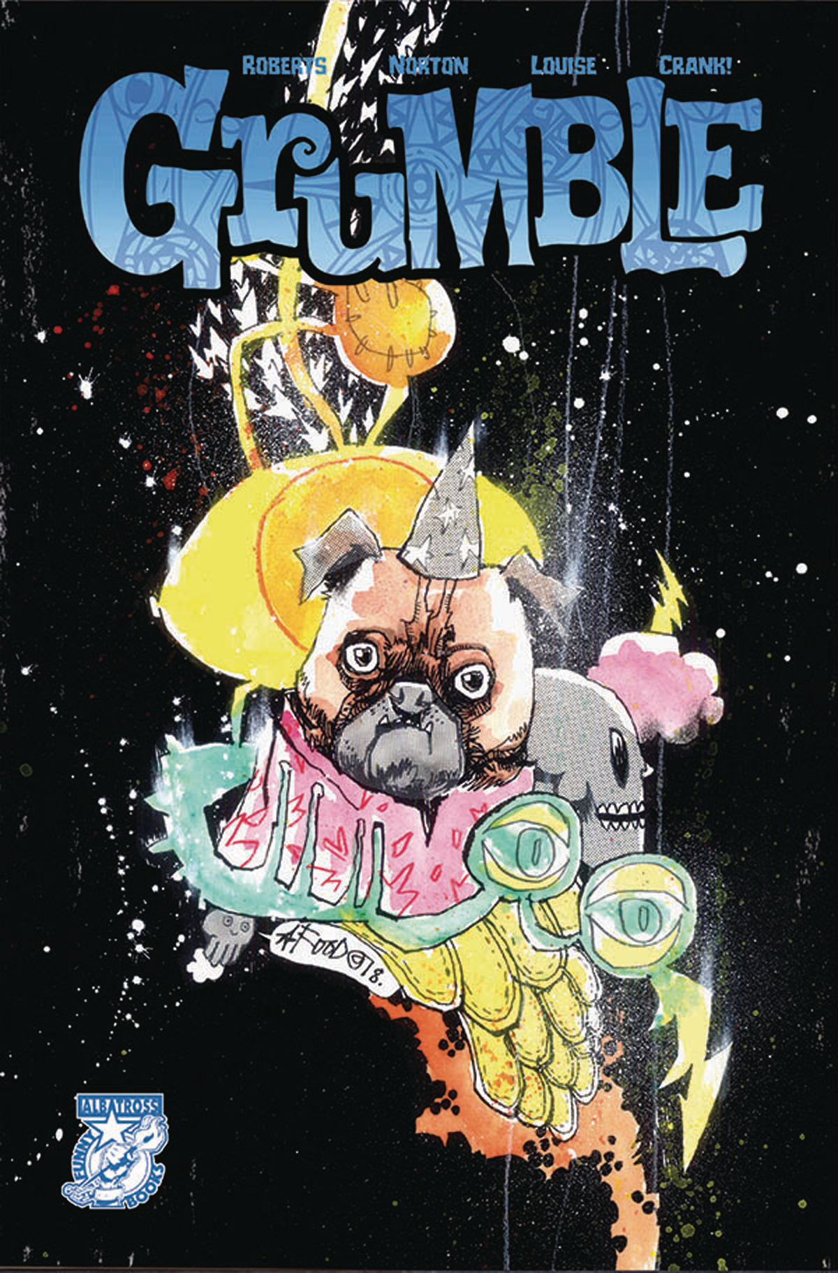 GRUMBLE #4 CVR B LTD JIM MAHFOOD