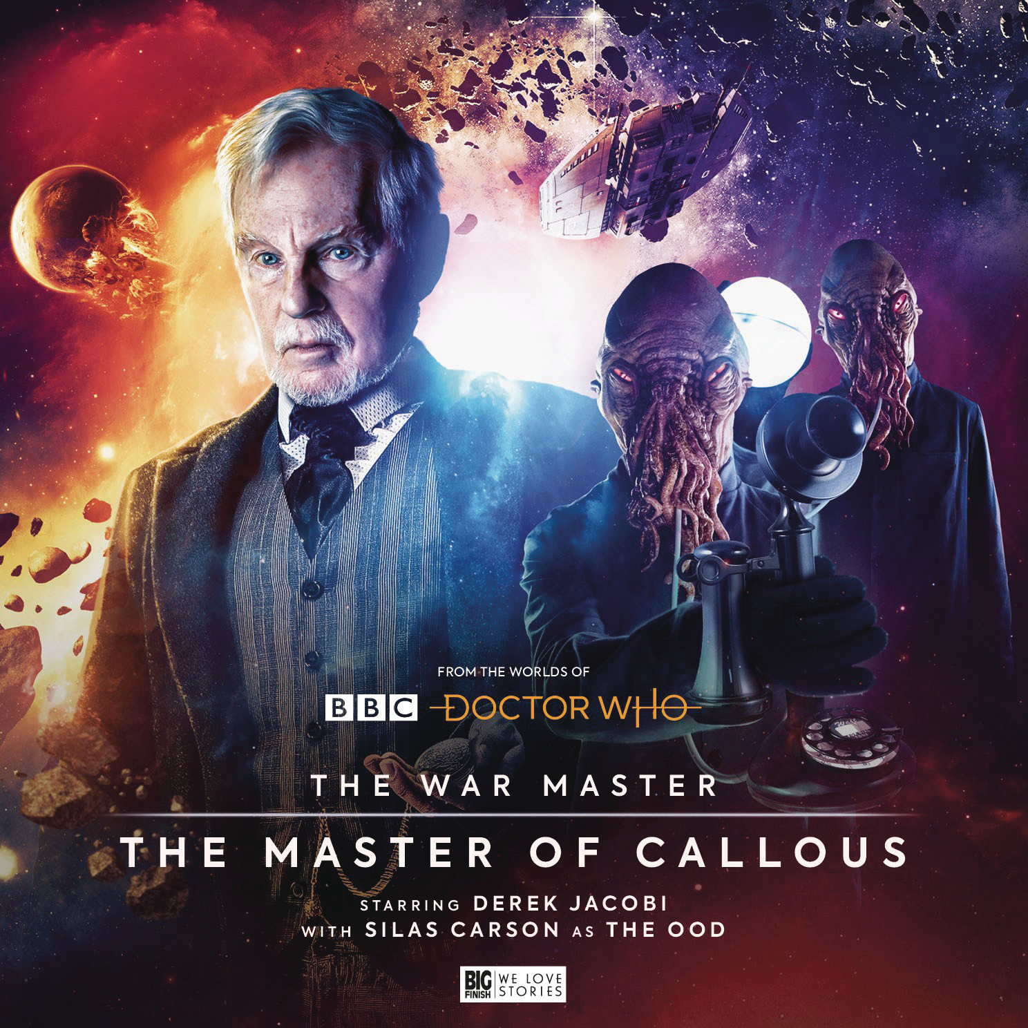 DOCTOR WHO WAR MASTER AUDIO CD SERIES 02 MASTER CALLOUS