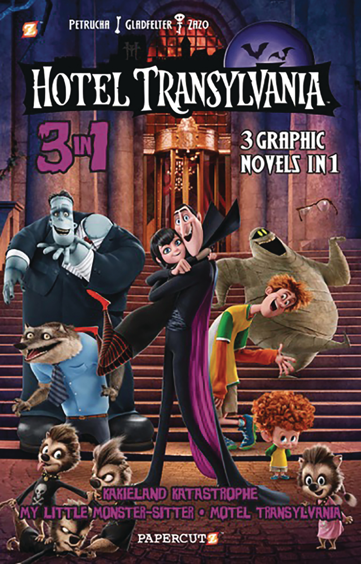 HOTEL TRANSYLVANIA 3IN1 VOL 01