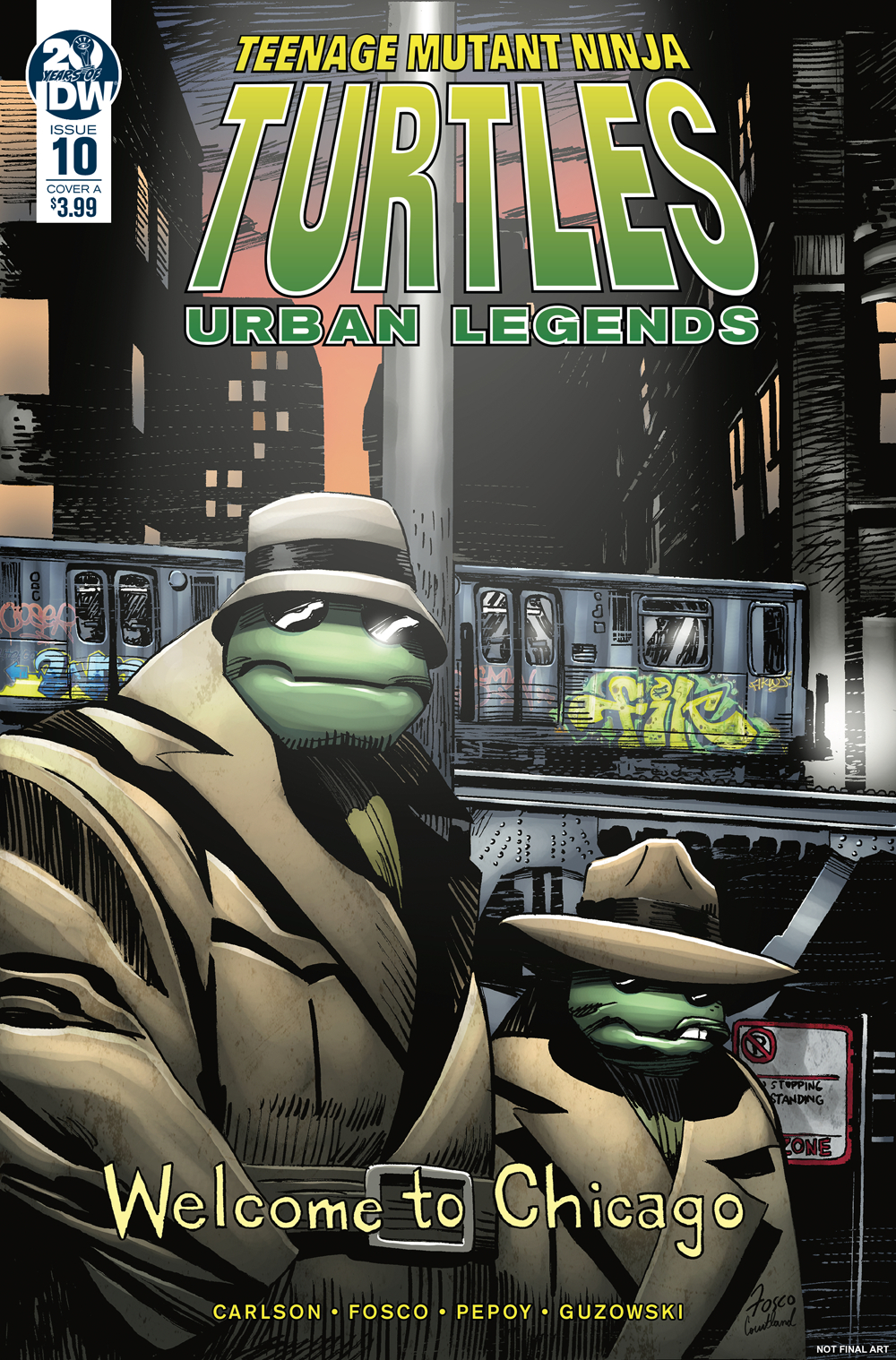 TMNT URBAN LEGENDS #10 CVR A FOSCO