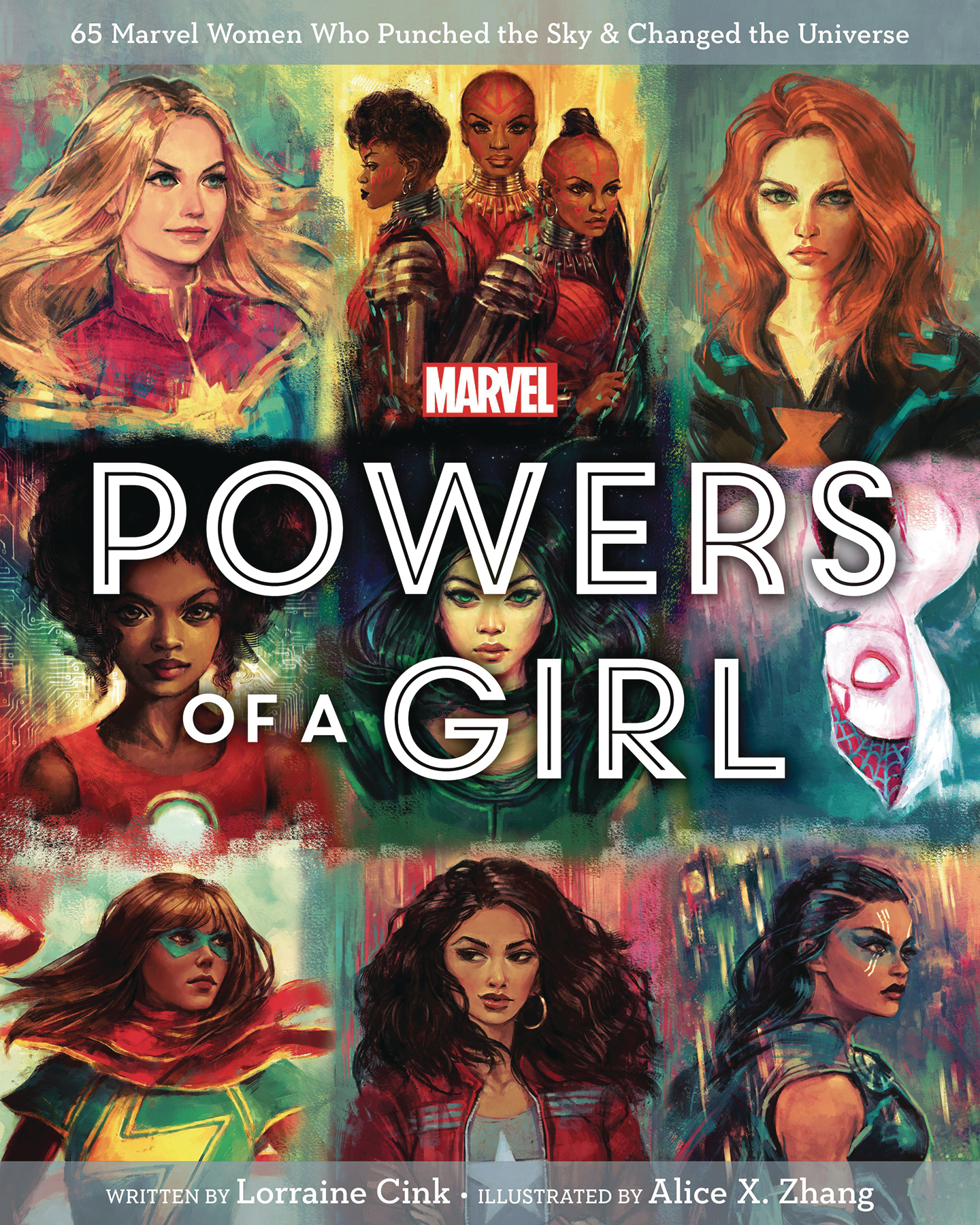 MARVEL POWERS OF A GIRL HC