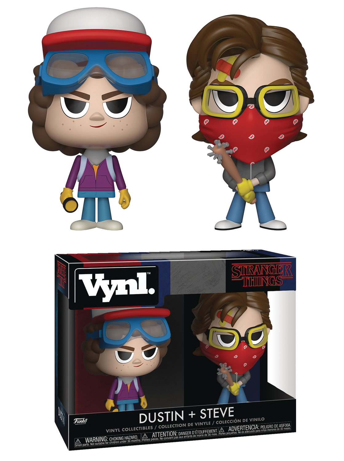 VYNL STRANGER THINGS STEVE & DUSTIN VIN FIG 2PK