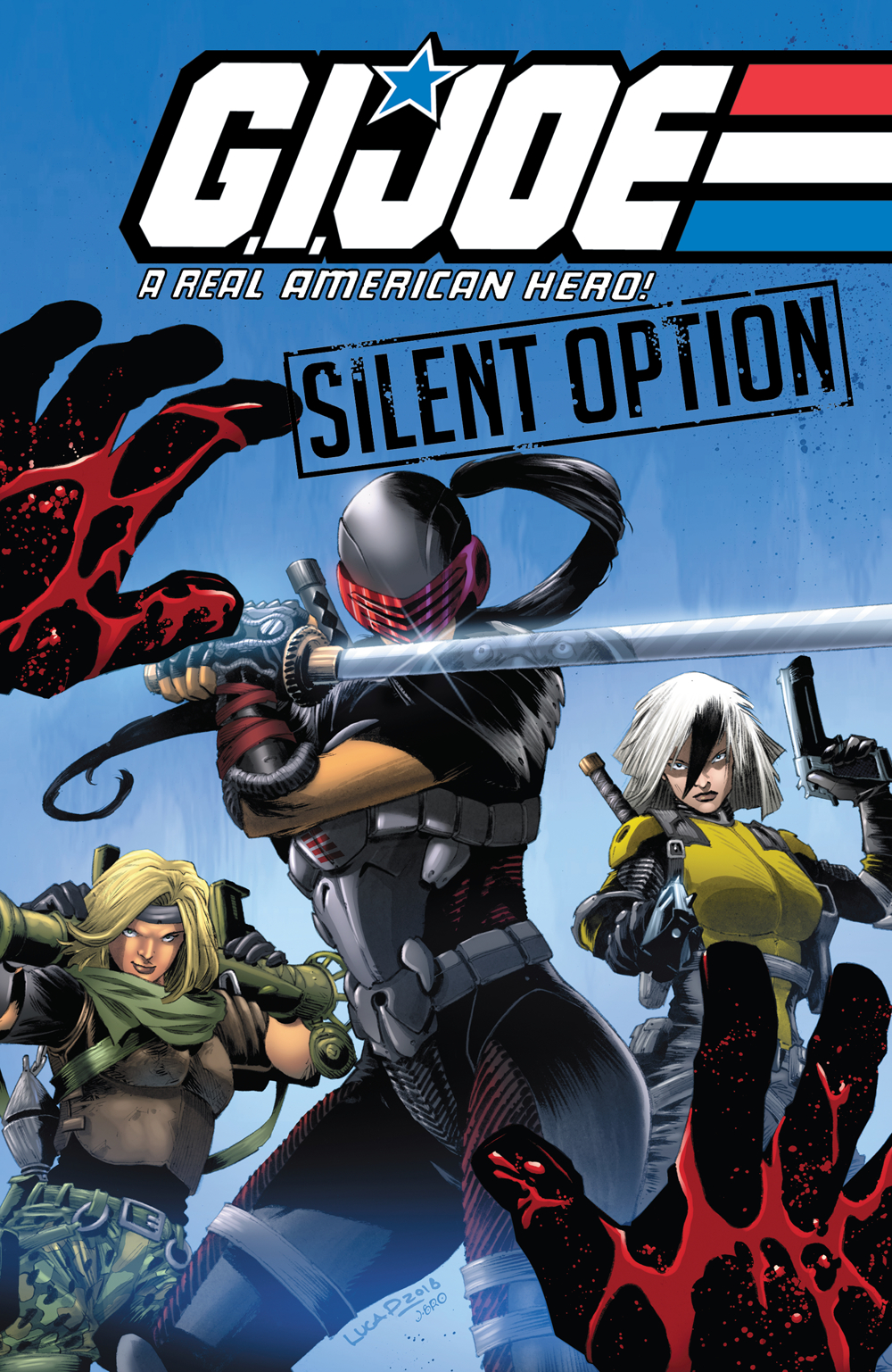 GI JOE REAL AMERICAN HERO SILENT OPTION TP