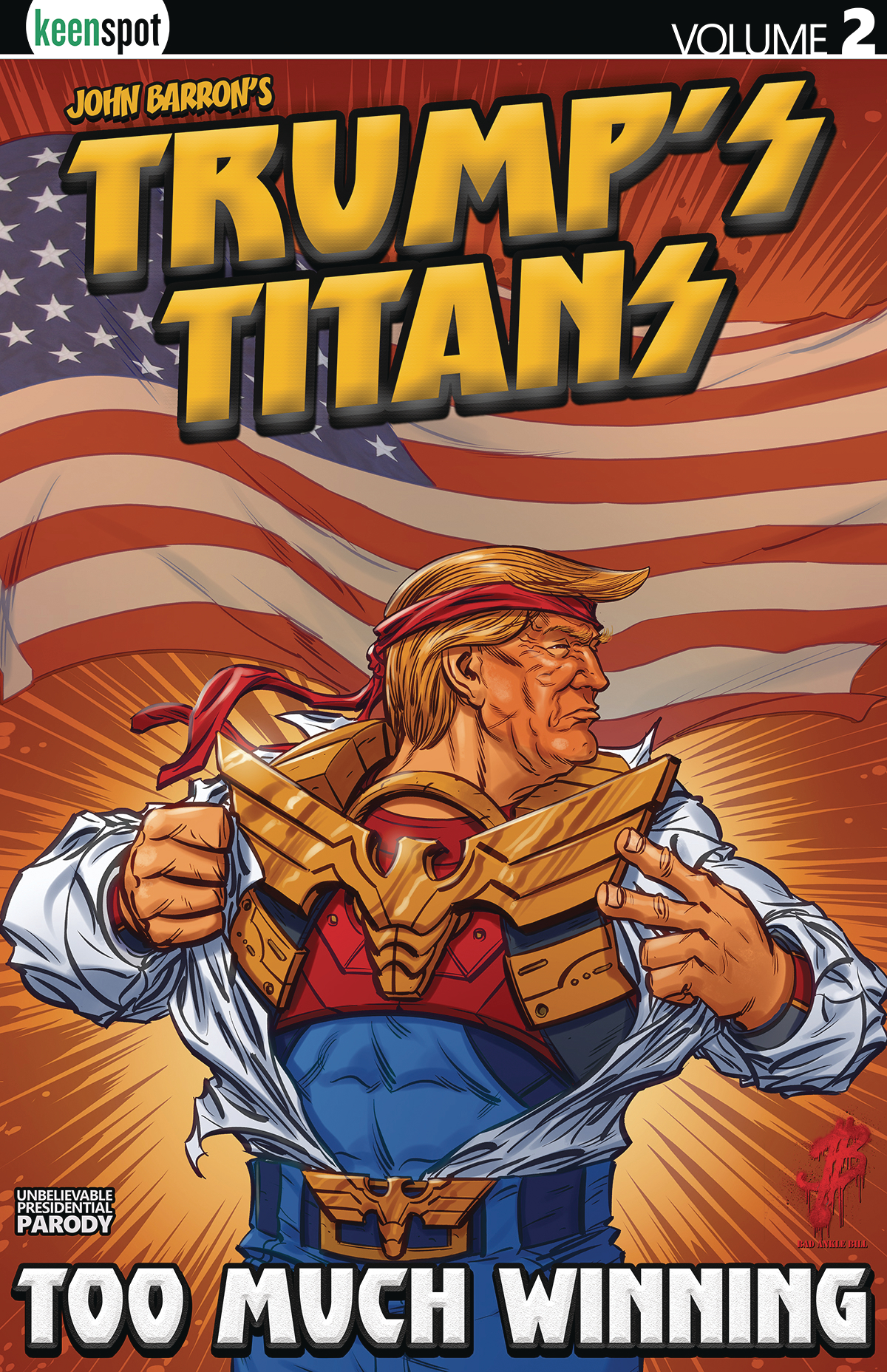 TRUMPS TITANS TP VOL 02 TOO MUCH WINNING