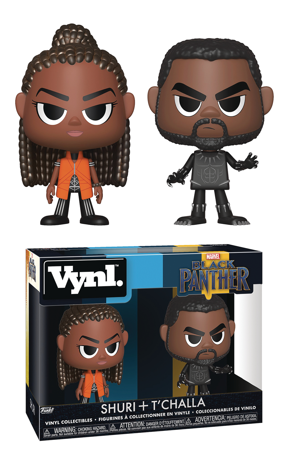 VYNL BLACK PANTHER & SHURI VIN FIG 2PK