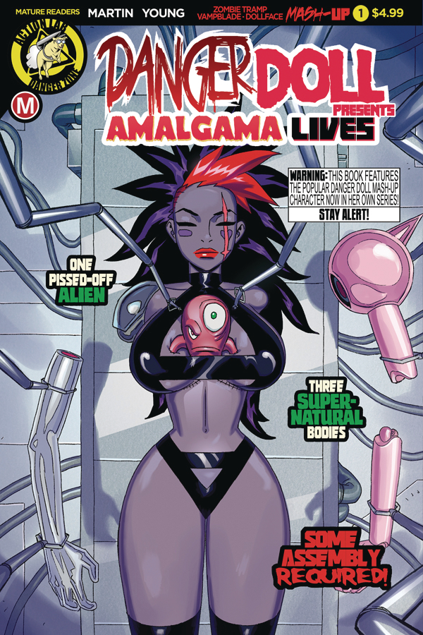 DANGER DOLL SQUAD PRESENTS AMALGAMA LIVES #1 CVR A YOUNG (MR