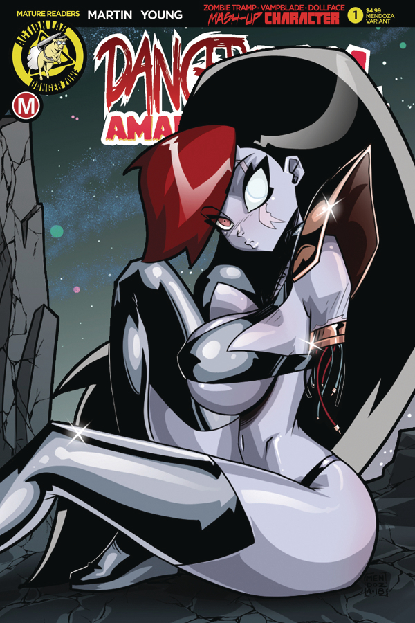 DANGER DOLL SQUAD PRESENTS AMALGAMA LIVES #1 CVR E MENDOZA (