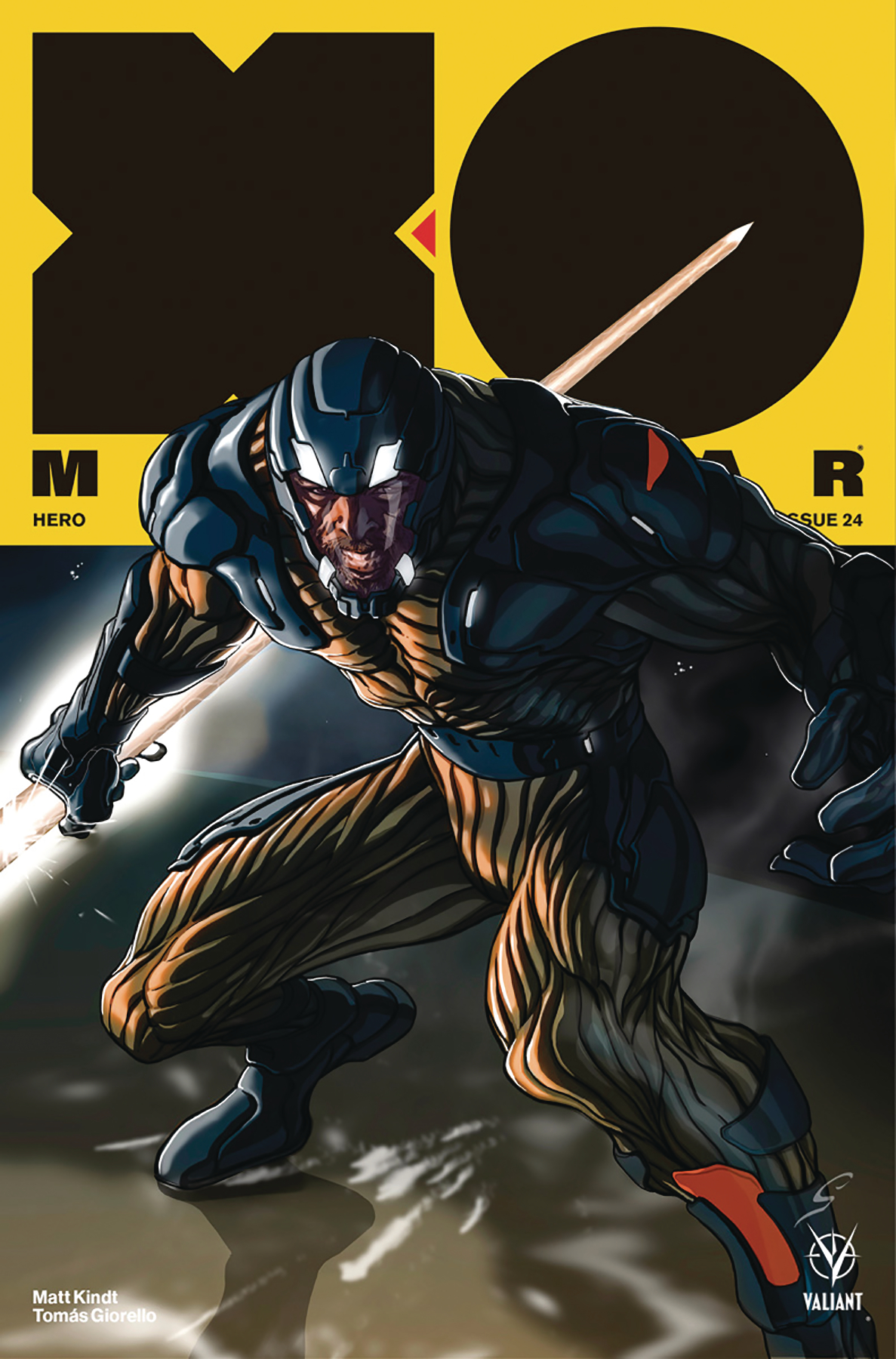 X-O MANOWAR (2017) #24 CVR B WILLIAMSON