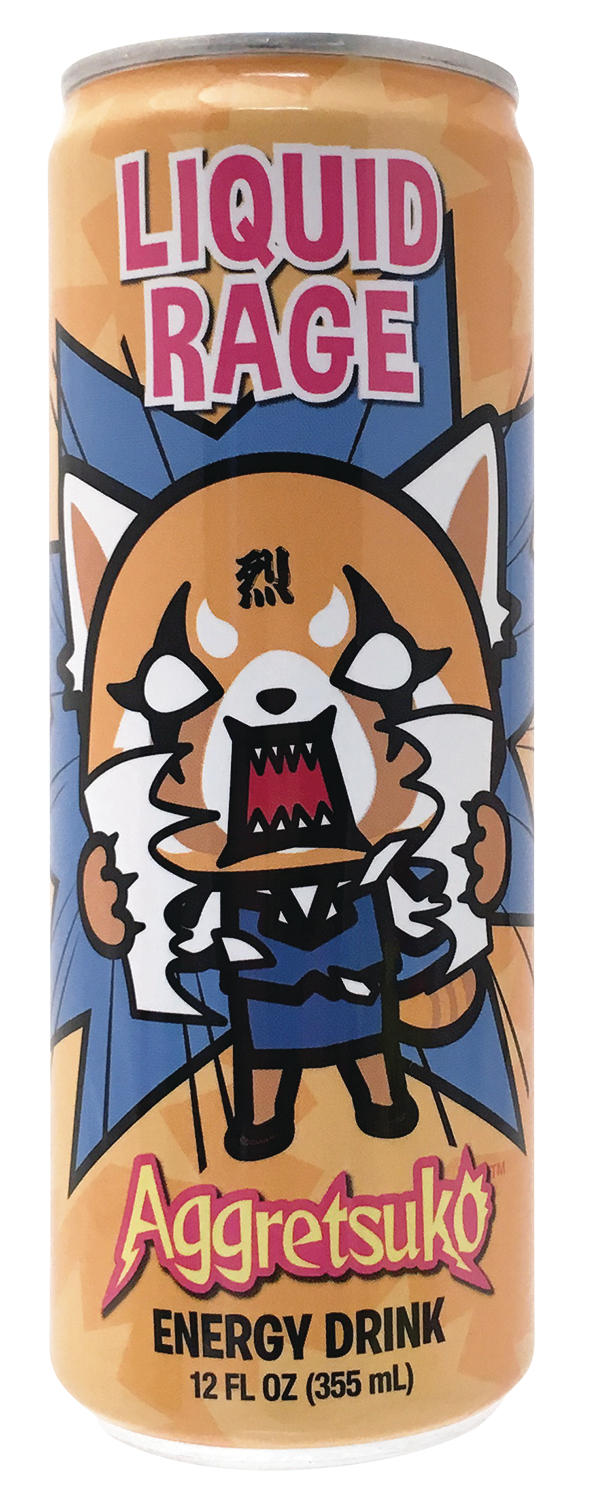 AGGRETSUKO LIQUID RAGE ENERGY DRINK CS