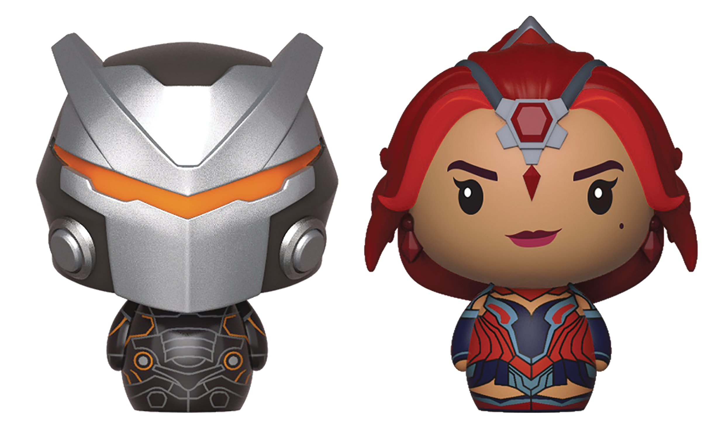 PINT SIZED HEROES FORTNITE OMEGA/VALOR FIG 2PK