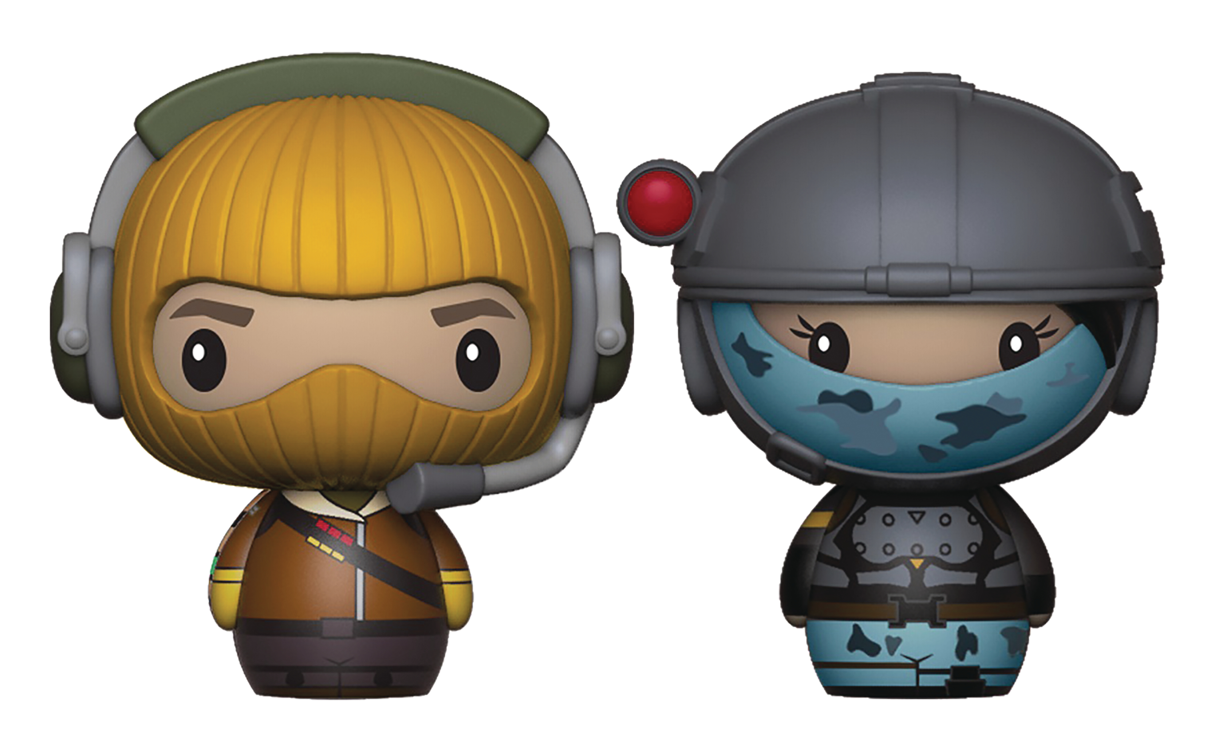 PINT SIZED HEROES FORTNITE RAPTOR/ELITE AGENT FIG 2PK
