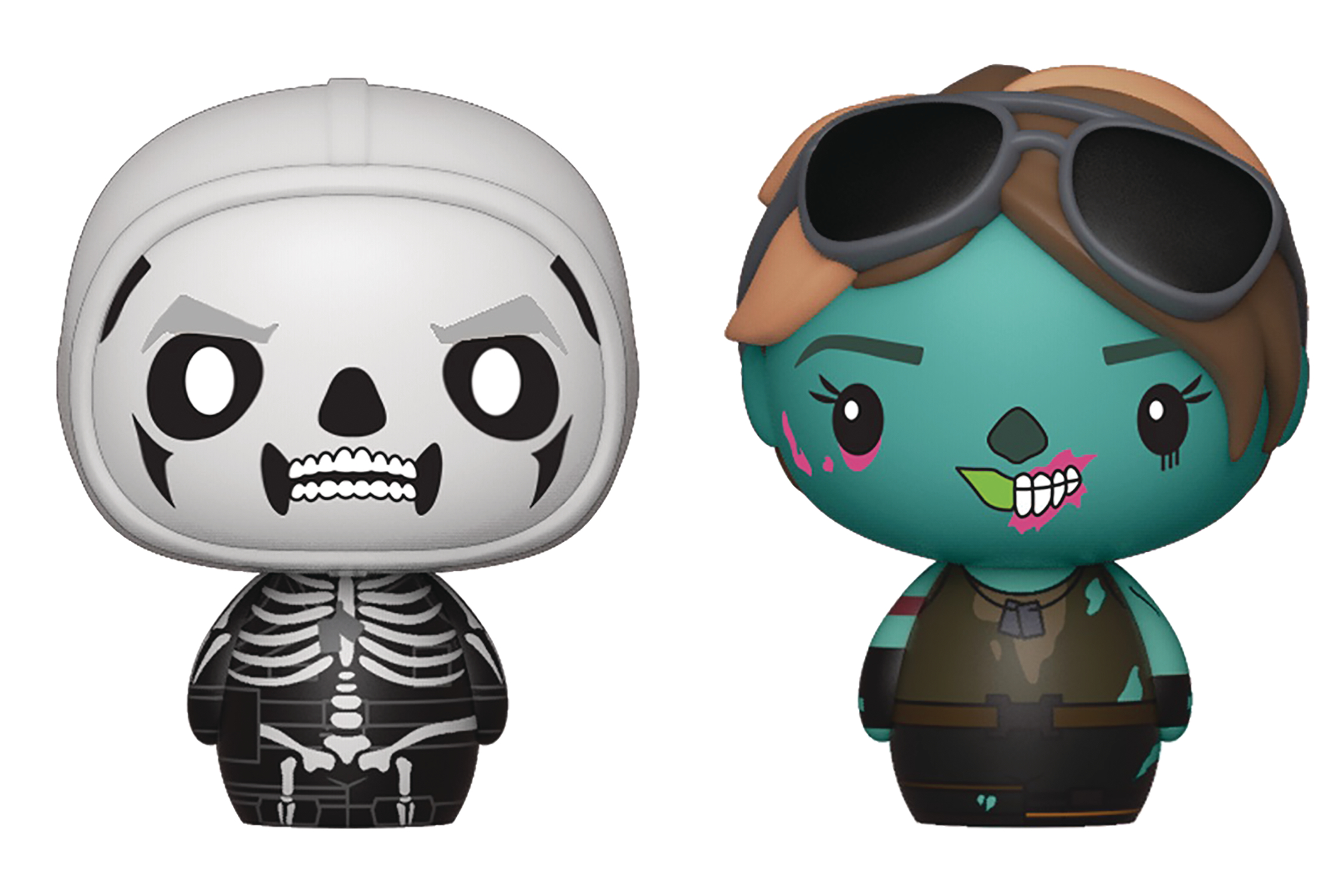 PINT SIZED HEROES FORTNITE SKULL TROOP/GHOUL TROOP FIG 2PK (